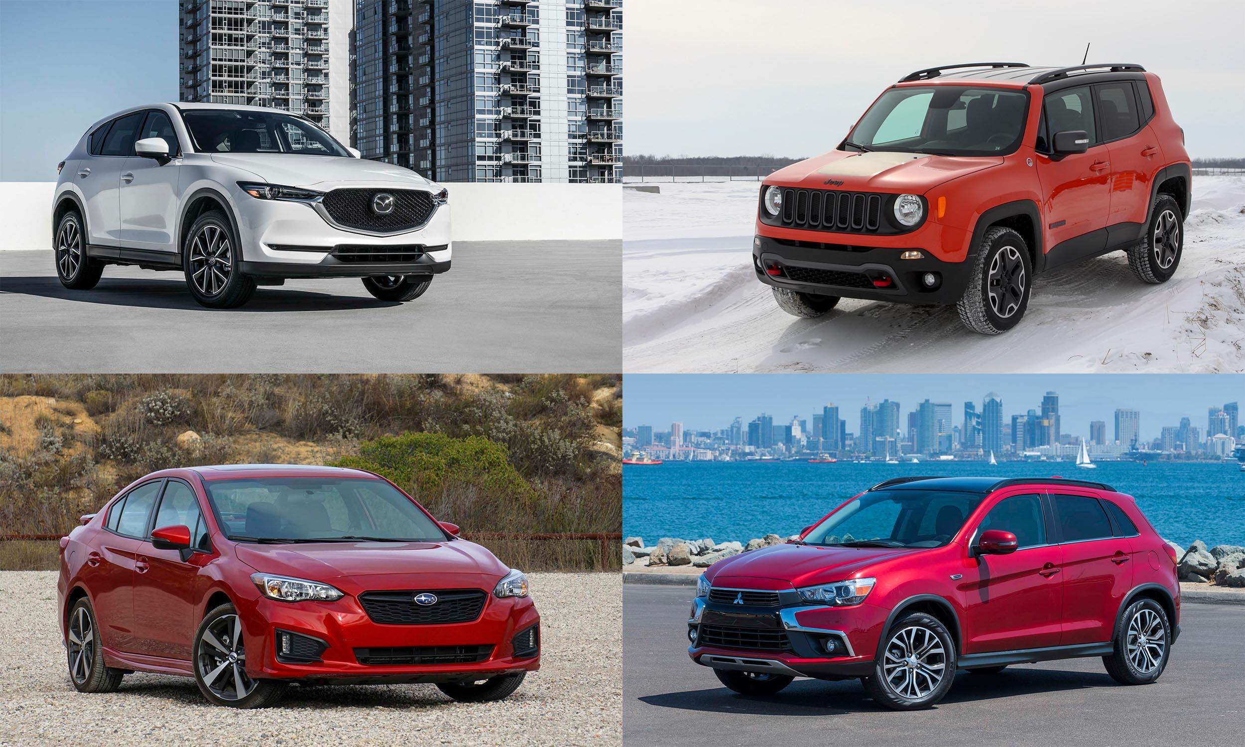 © Mazda North American Operations, © Automotive Content Experience, © FCA US, © Mitsubishi Motors