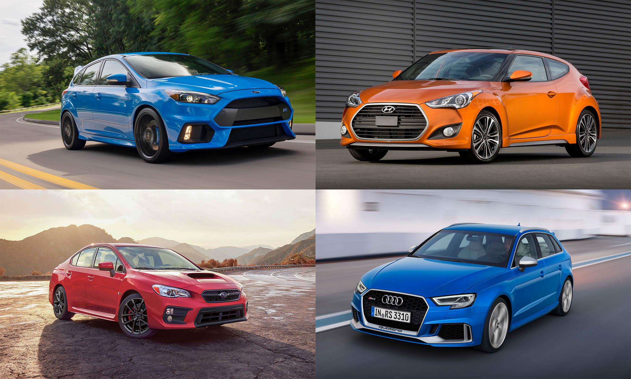© Ford Motor Company, © Subaru of America, © Hyundai Motors America, © Audi AG
