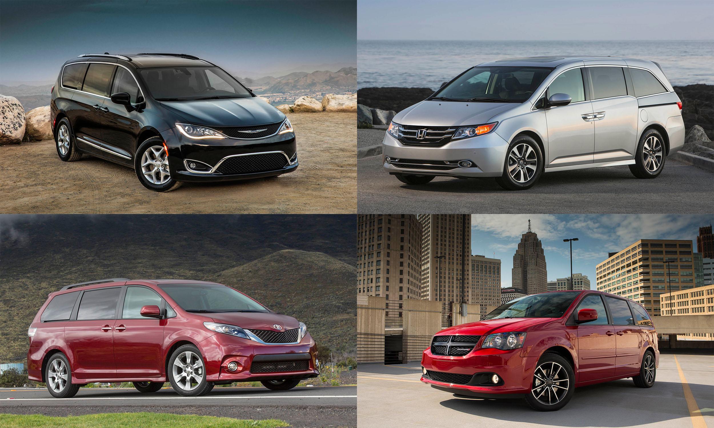 © FCA US, © Toyota Motor Sales USA, © American Honda Motors