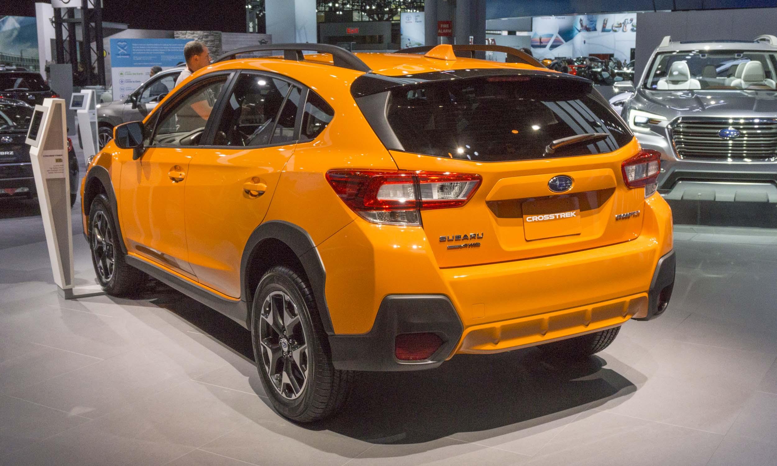 2017 New York Auto Show Suvs Galore on Subaru Crosstrek Cargo Net