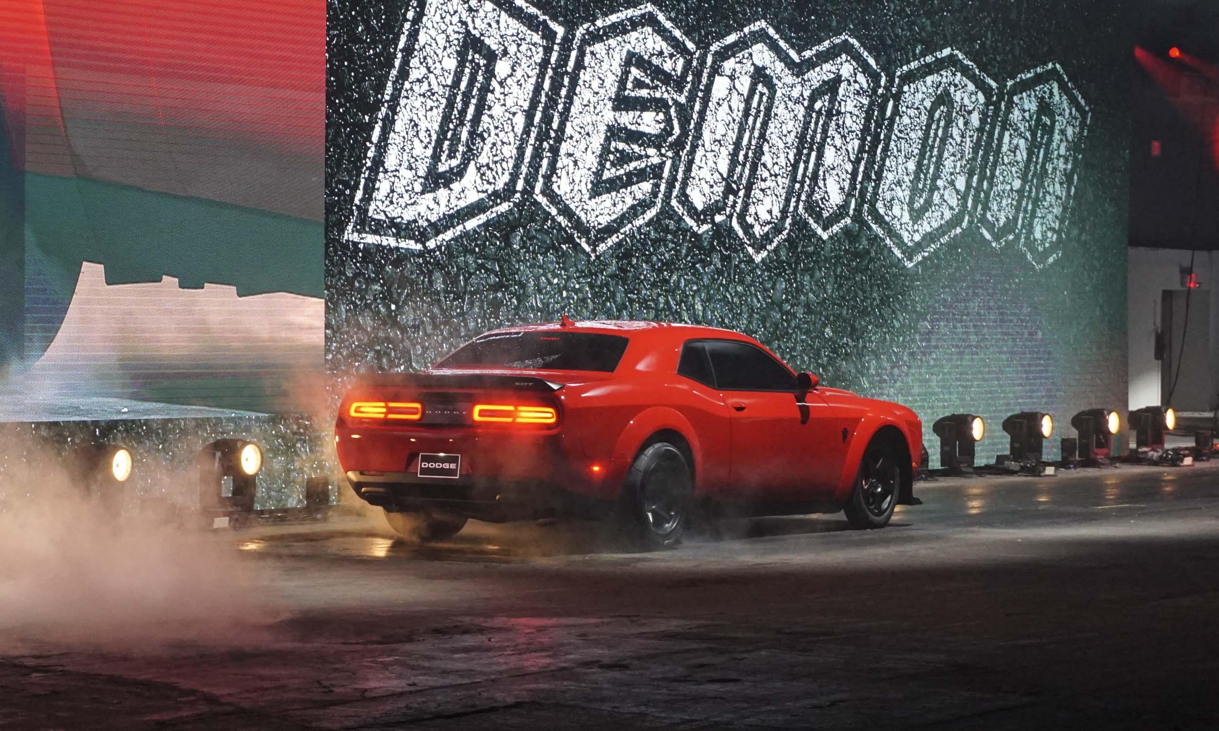 New York Auto Show Dodge Challenger SRT Demon AutoNXT - Dodge car show 2018