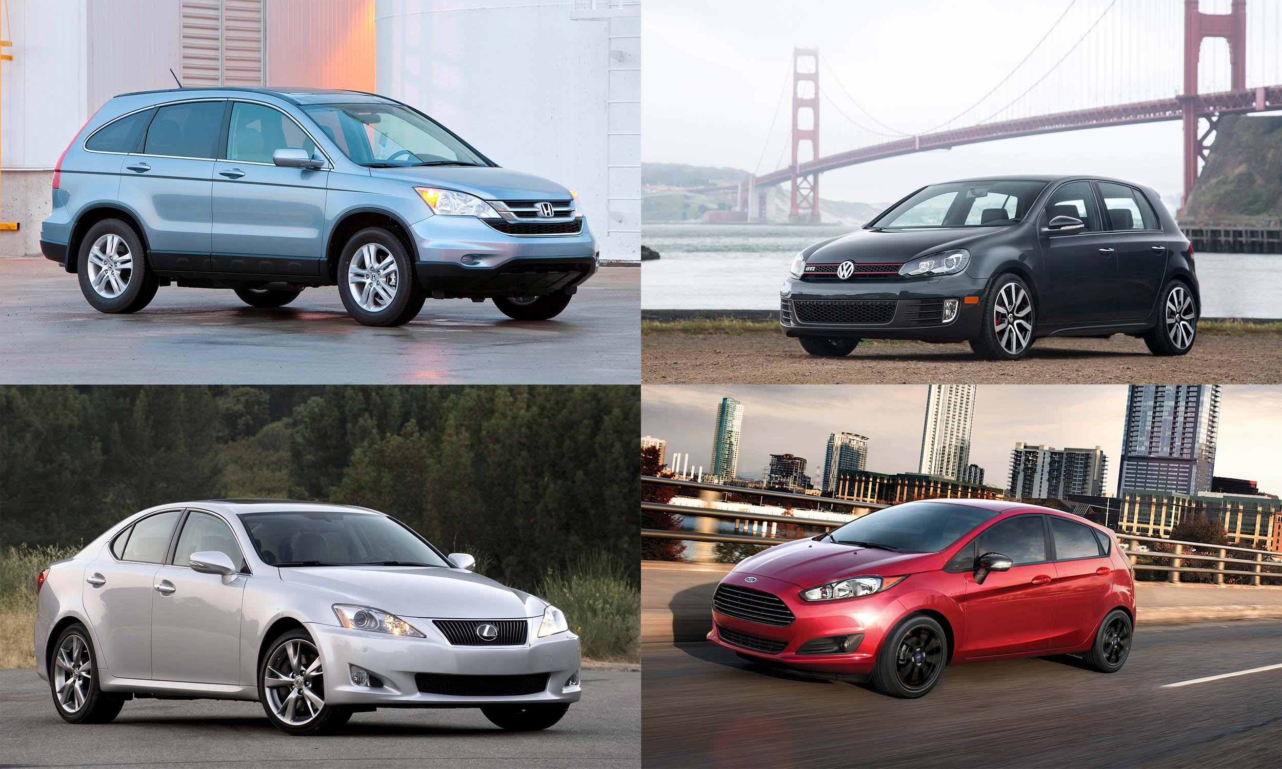 © American Honda Motors, © Toyota Motor Sales USA, © Volkswagen of America, © Ford Motor Company