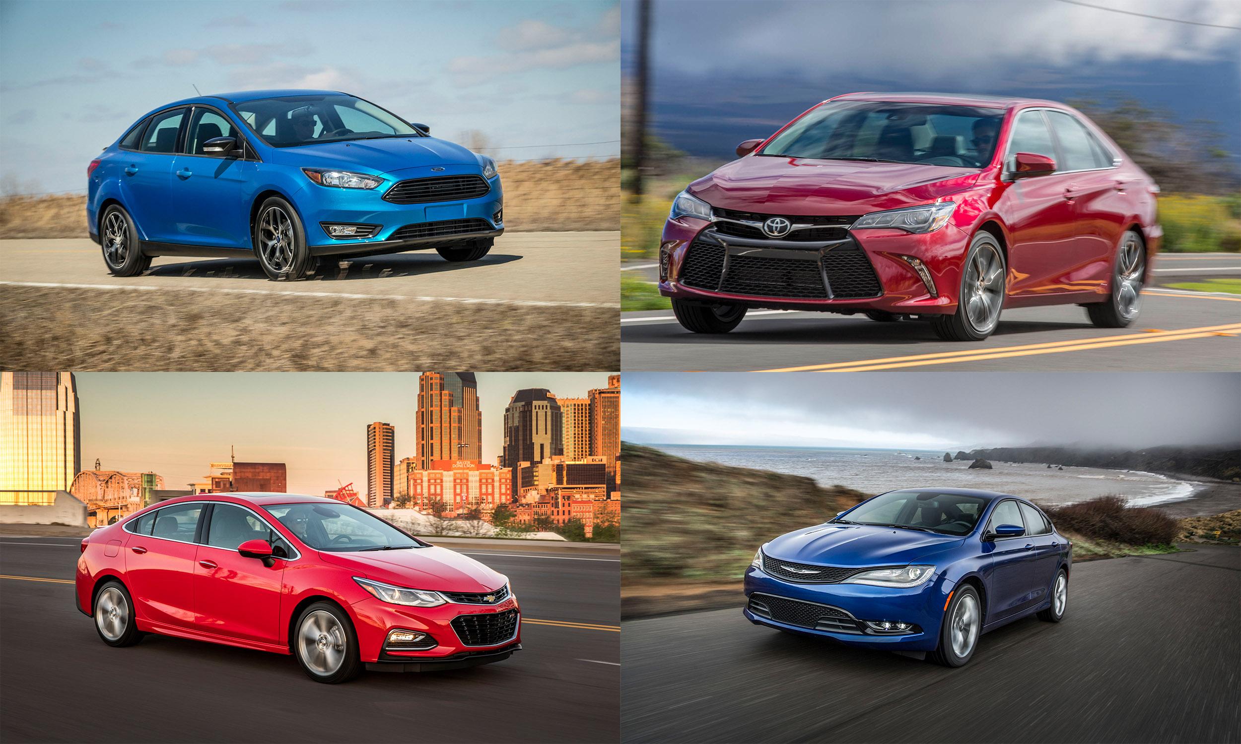© Ford Motor Company, © General Motors, © Toyota Motor Sales USA, © FCA US