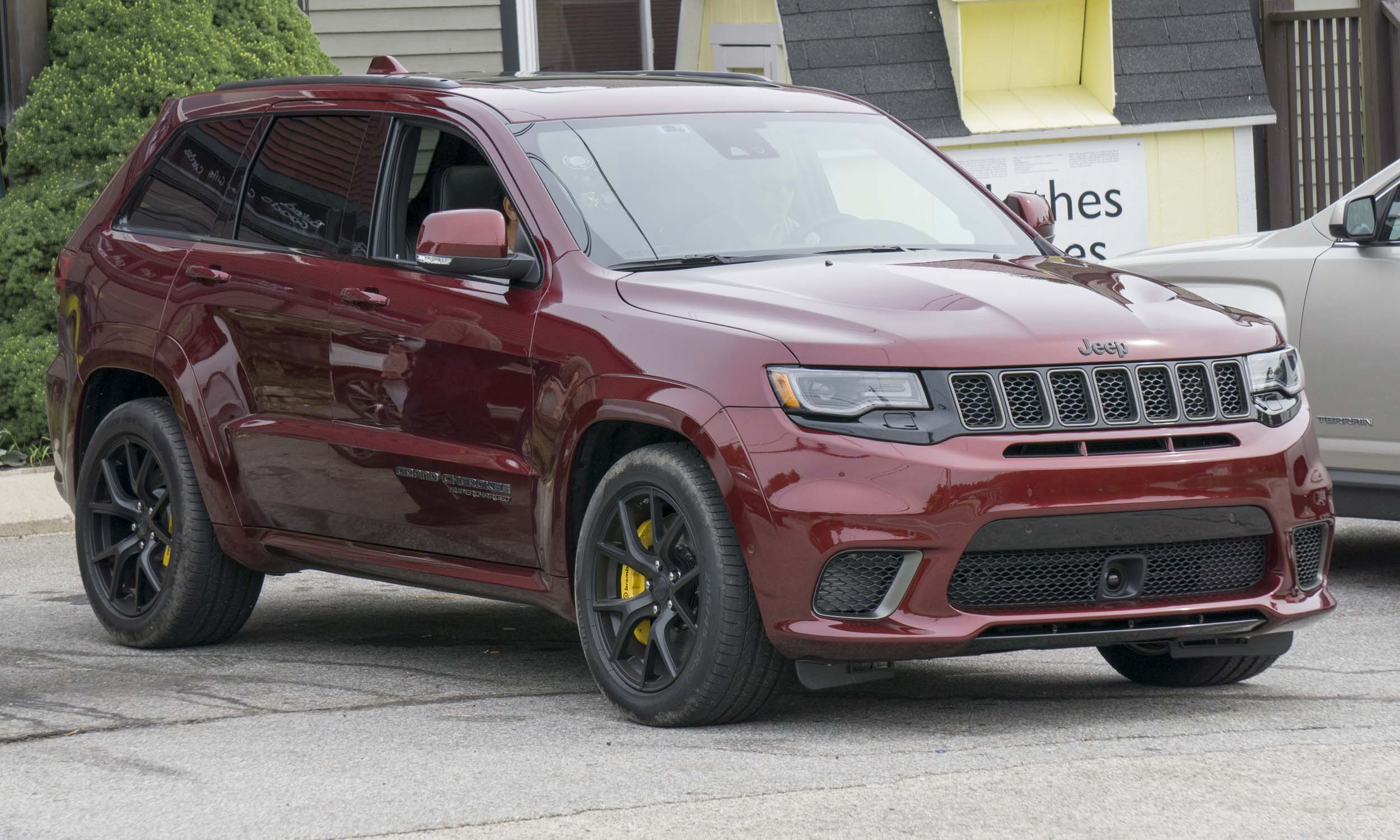 2017 jeep grand cherokee trackhawk car and driver autos post. Black Bedroom Furniture Sets. Home Design Ideas
