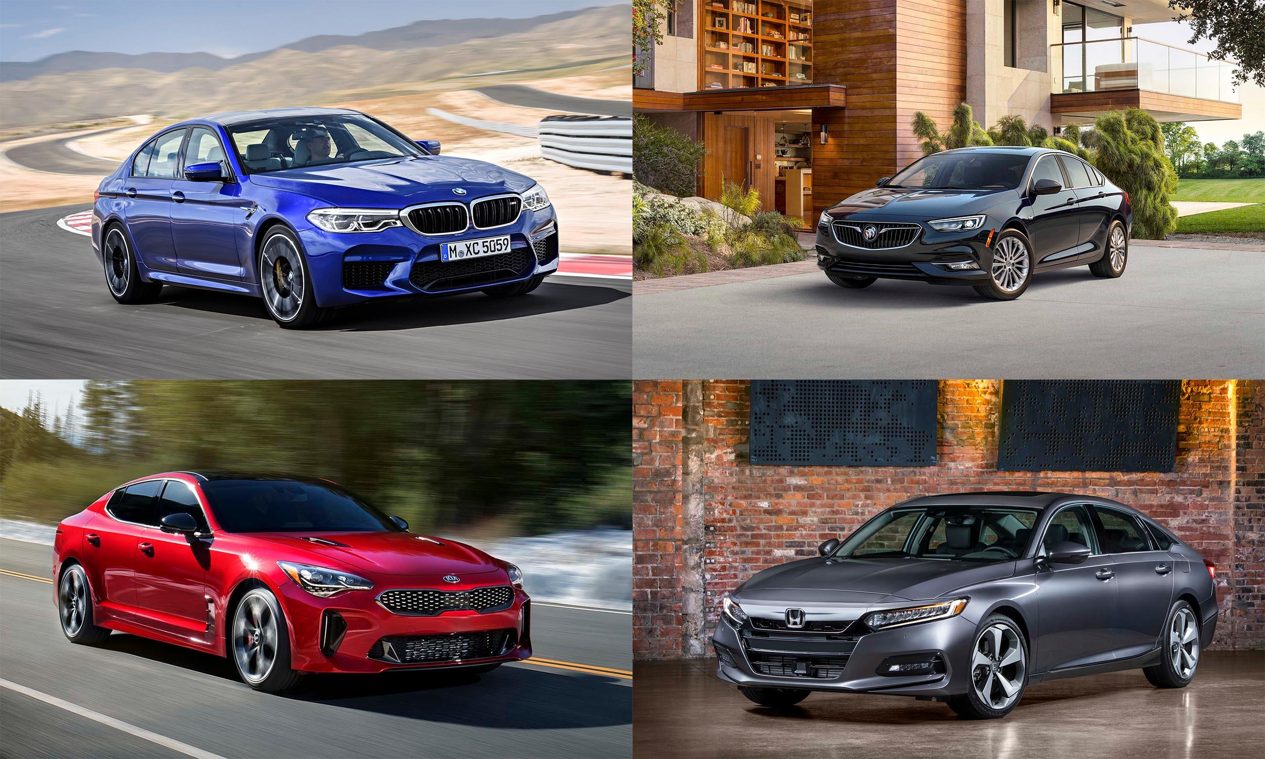© BMW USA, © Kia Motors America, © General Motors, © American Honda Motors