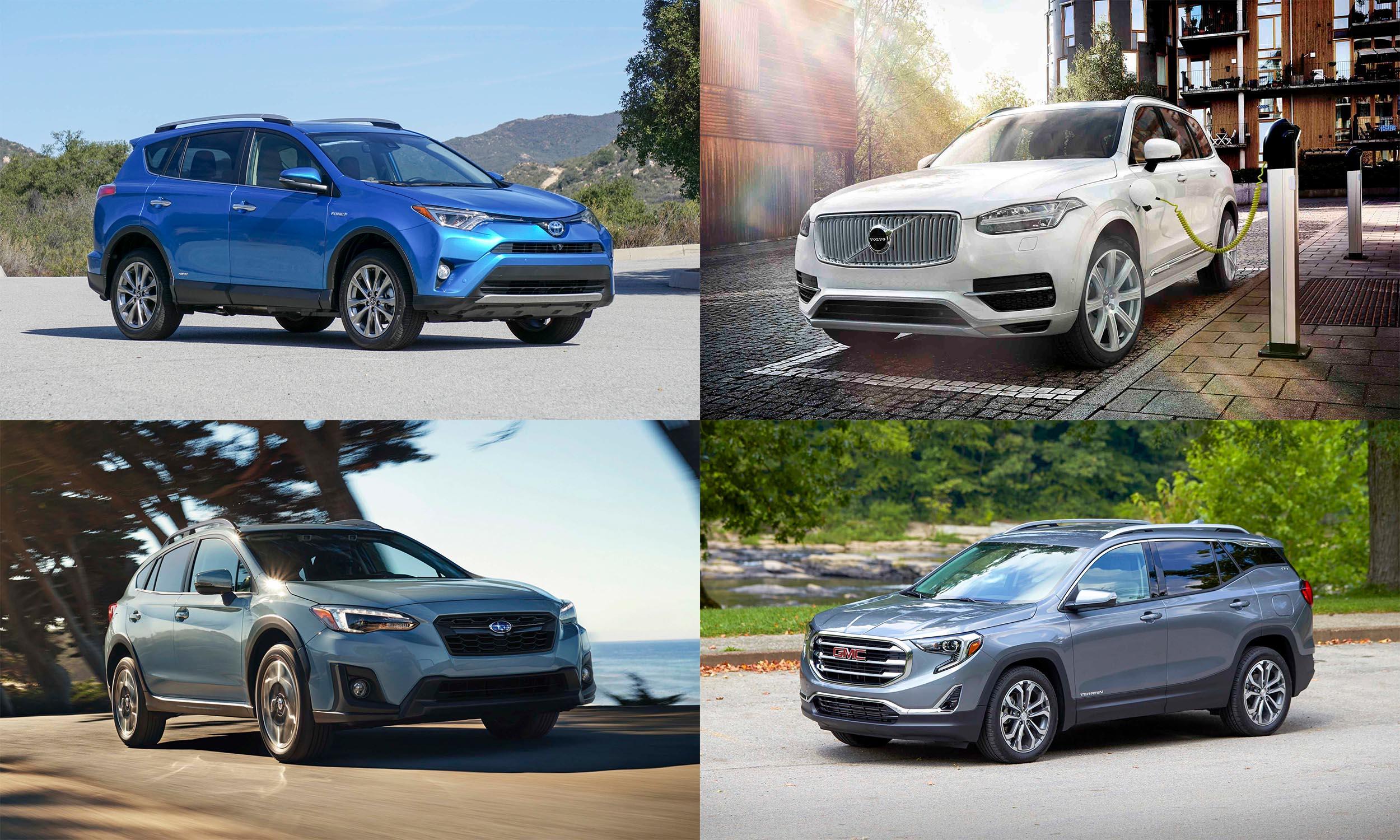 © Toyota Motor Sales USA, © Subaru of America, © Volvo Cars North America, © General Motors