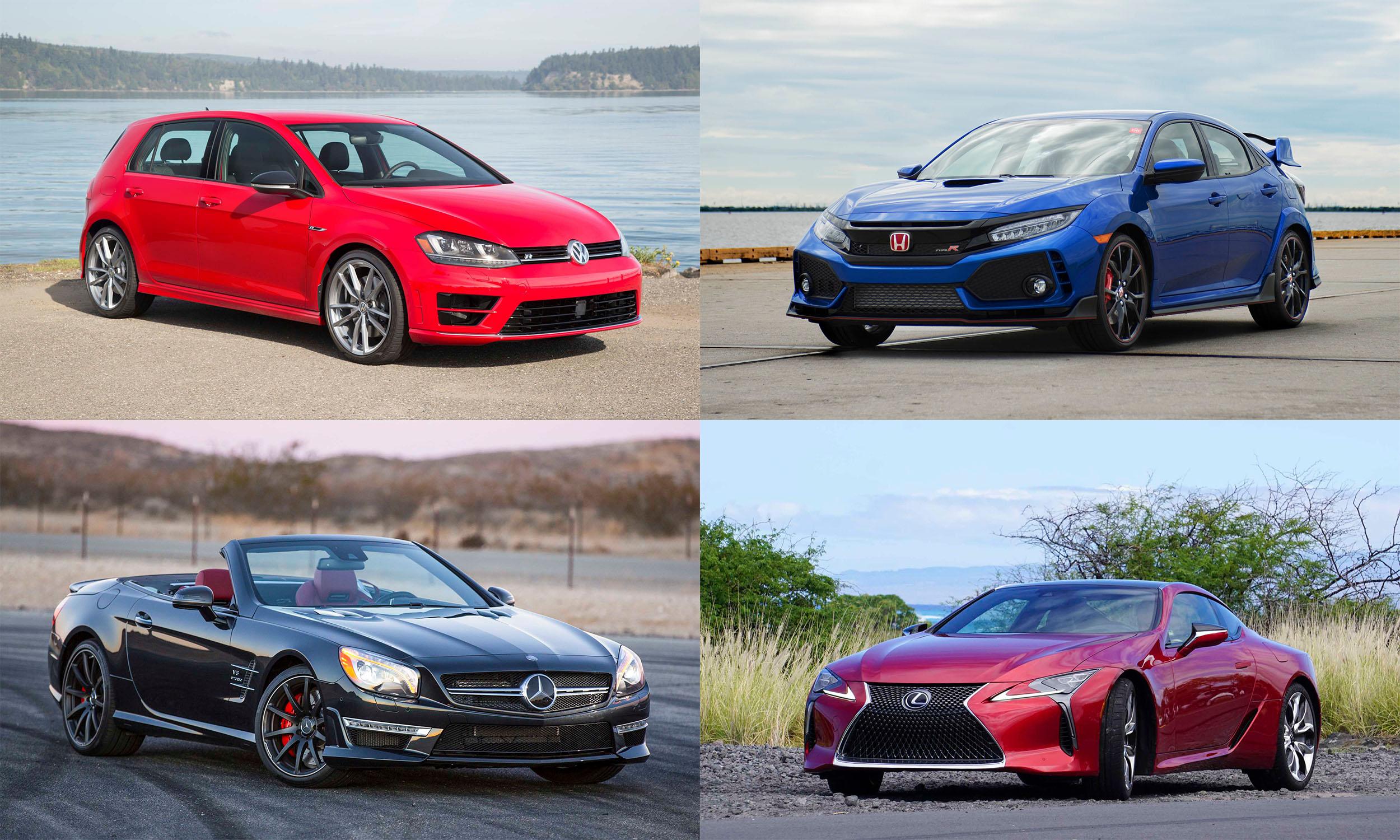 © Volkswagen of America, Inc., American Honda Motor Co., Toyota Motor Sales, U.S.A., Mercedes-Benz USA