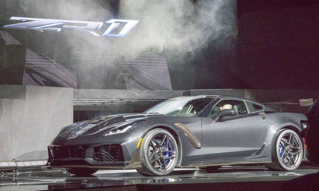 2017 L.A. Auto Show: 2019 Chevrolet Corvette ZR1 - » AutoNXT