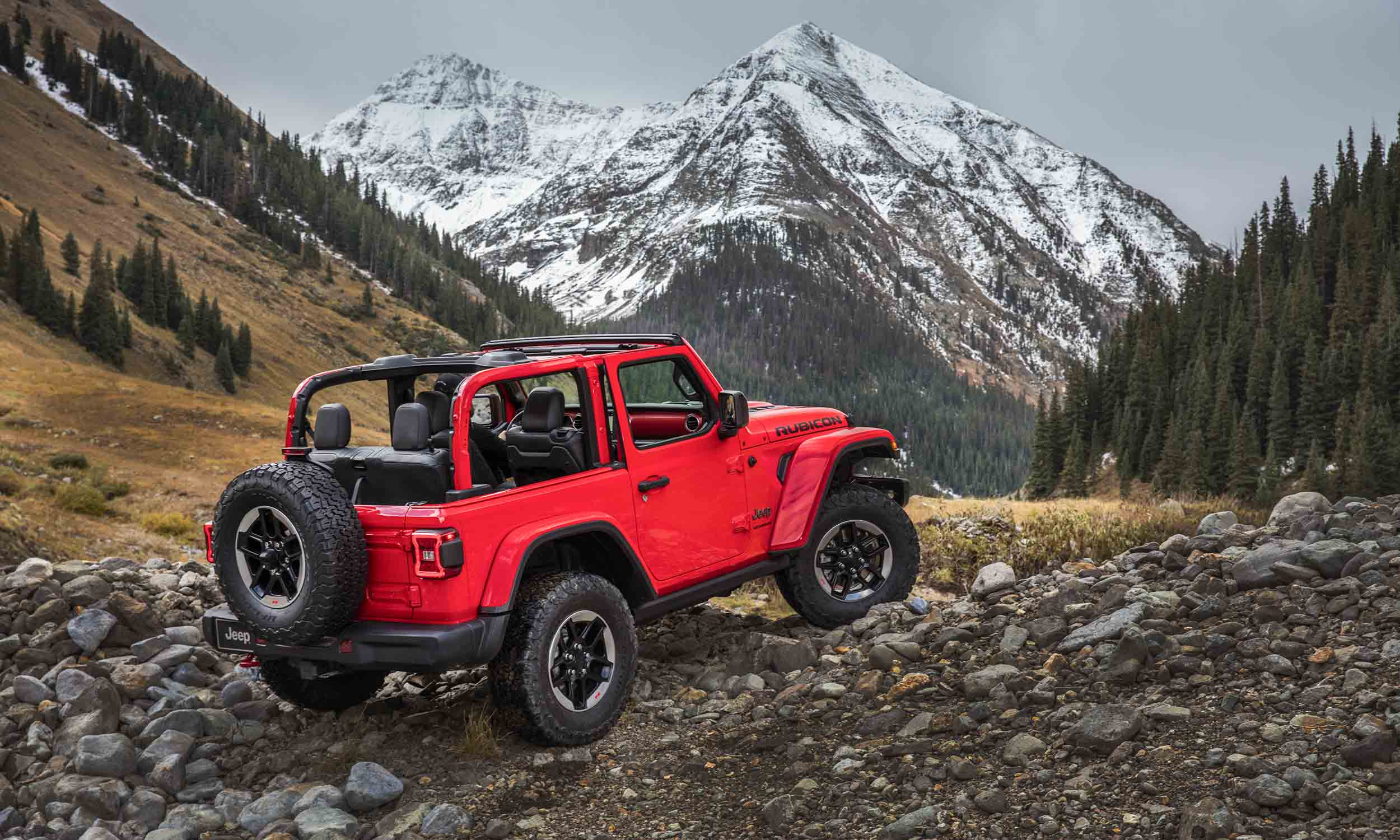 2018 jeep wrangler premieres in los angeles autonxt. Black Bedroom Furniture Sets. Home Design Ideas