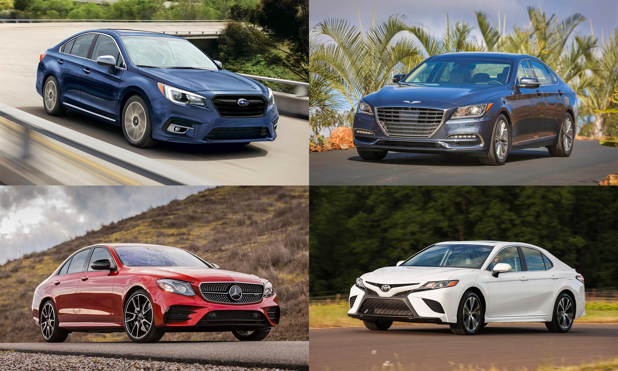 © Subaru of America. © Hyundai Motor America, © Mercedes-Benz USA, © Toyota Motor Sales USA