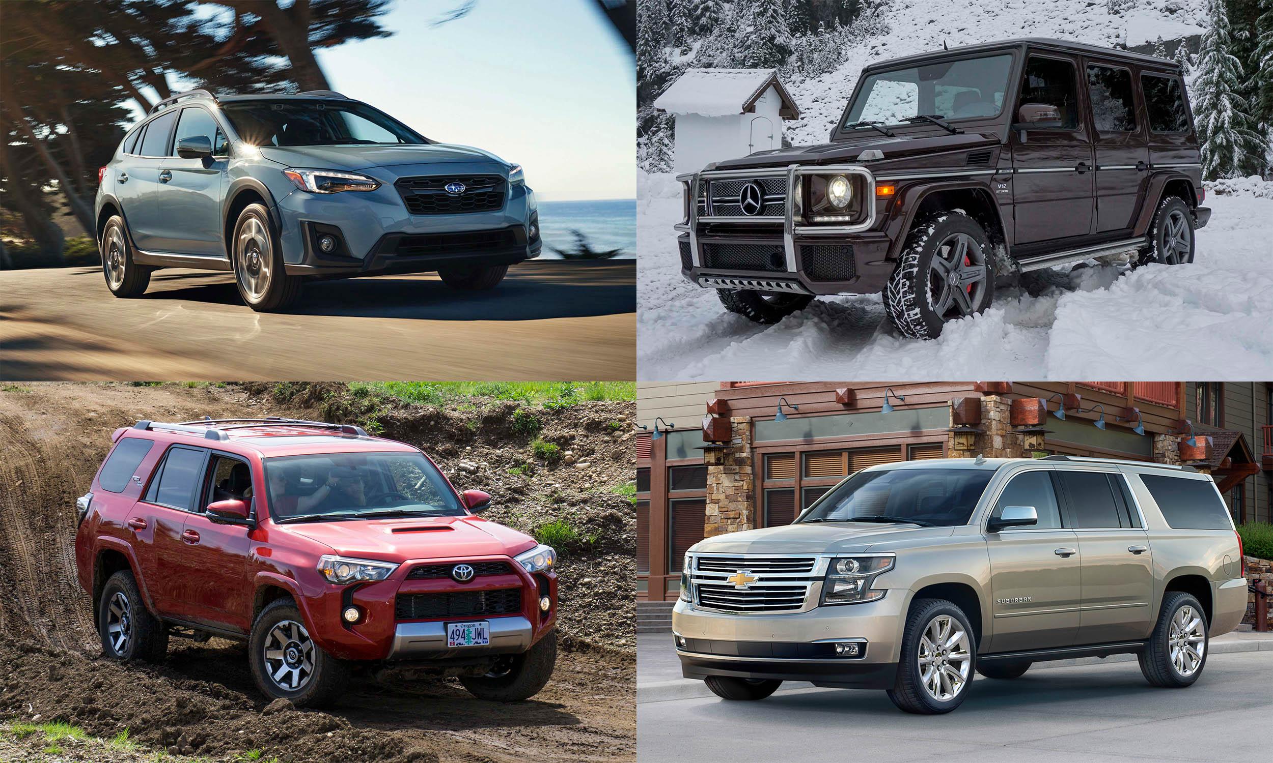 © Subaru of America, © Automotive Content Experience, © General Motors