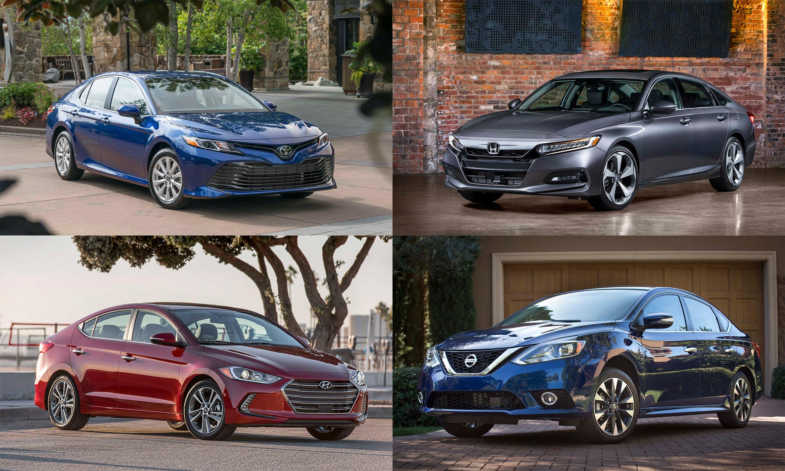 © Toyota Motor Sales; American Honda Motor Company; Nissan North America; Hyundai Motor America