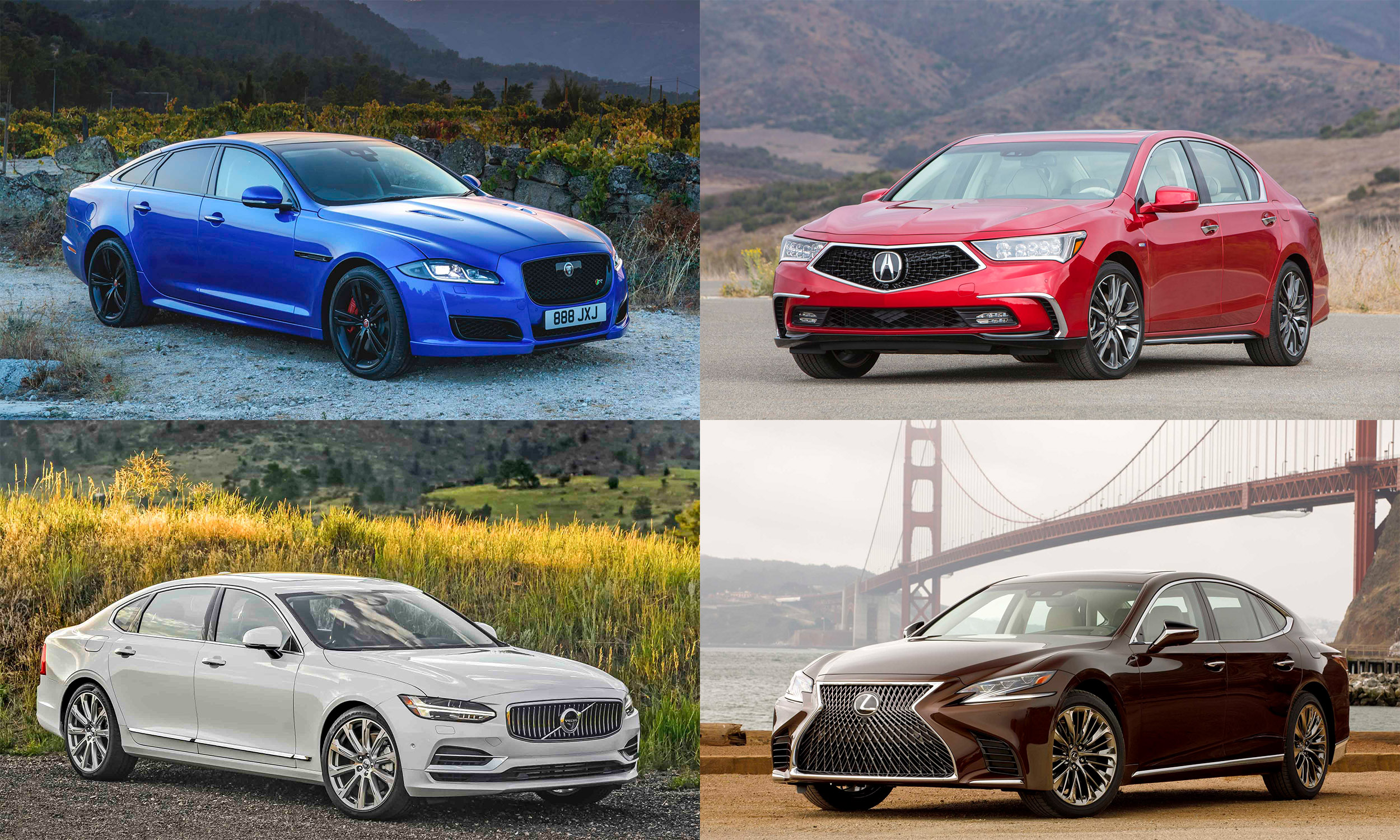 © Jaguar Land Rover North America; American Honda Motor Company; Toyota Motor Sales; Volvo Cars of North America