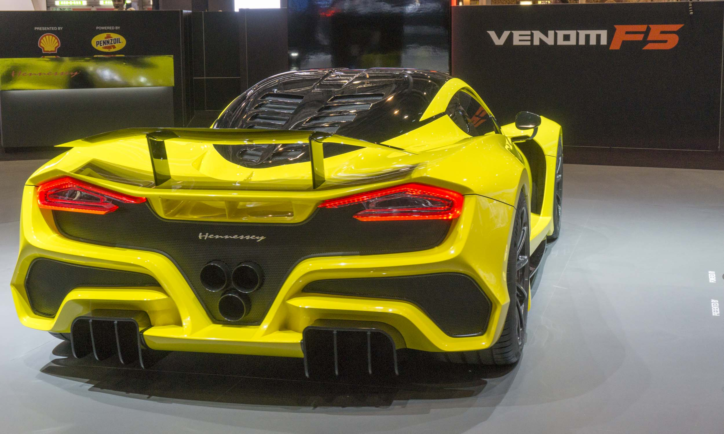 Perry Stern Automotive Content Experience Venom F5 Debuts