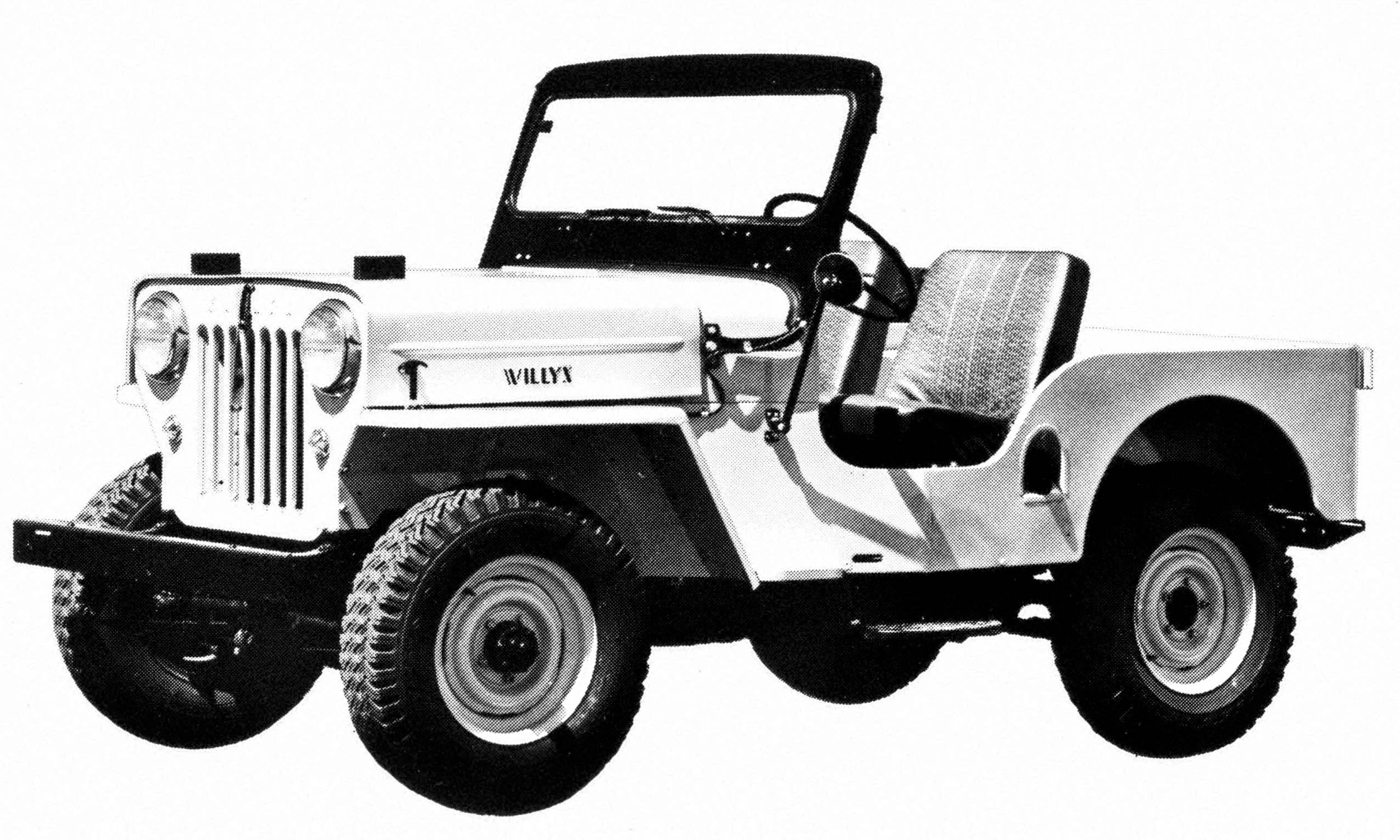 Jeep A Brief History Autonxt Cj5 Wiring Harness 250 The Cj Received Extensive Updates For 1953 As 3b With Taller Hood And Grille To Fit Larger Hurricane Engine That Produced 25 Percent More