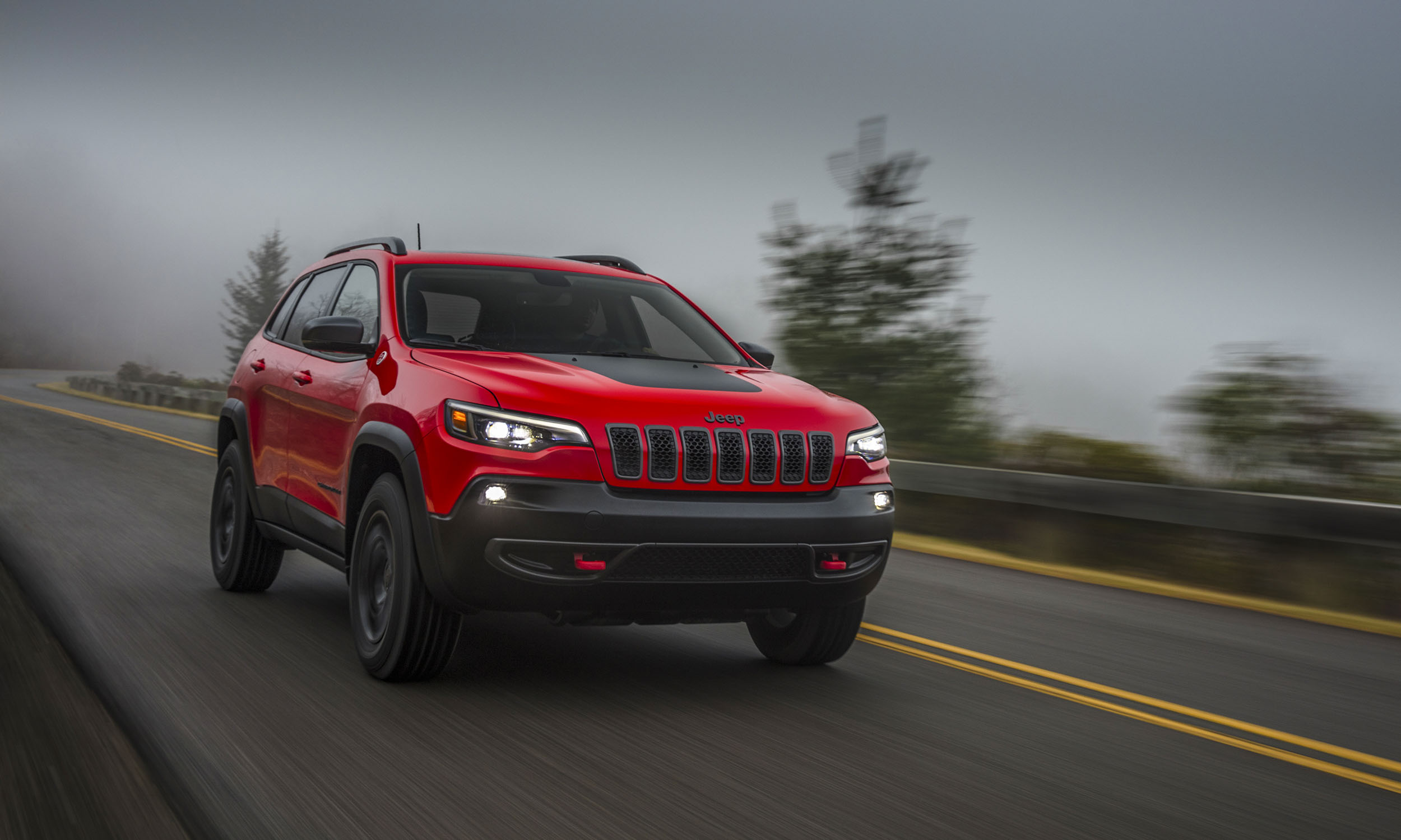 For 2019 The Iconic Cherokee Gets A Complete Refresh U2014 The First Since The  Model Returned To The Jeep Lineup In 2014. The New Design Brings The  Exterior ...