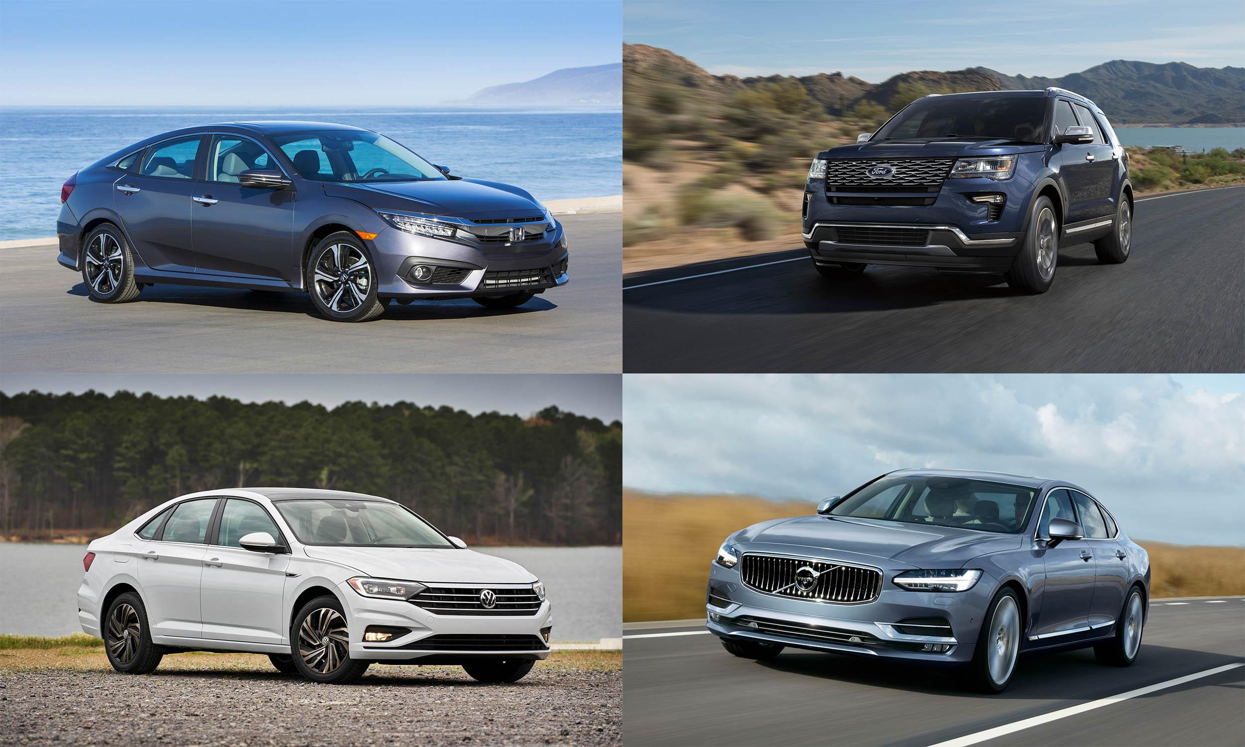 © American Honda Motors, © Volkswagen of America, © Ford Motor Company, © Volvo Cars North America