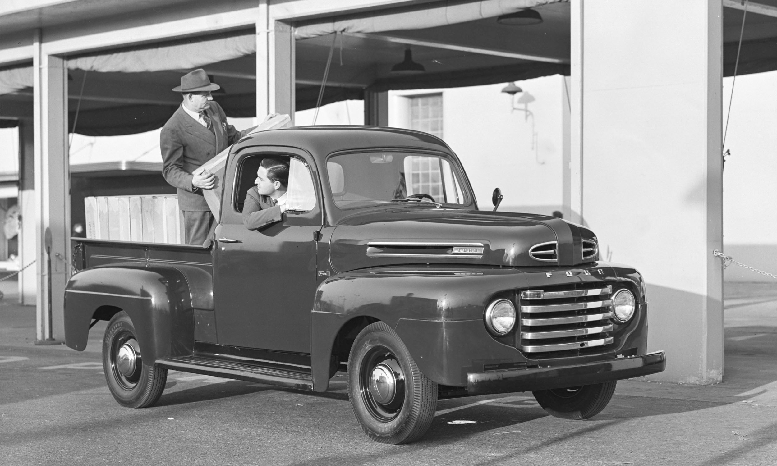 Ford F Series A Brief History Autonxt 1948 Truck Flathead 6 Motor Company
