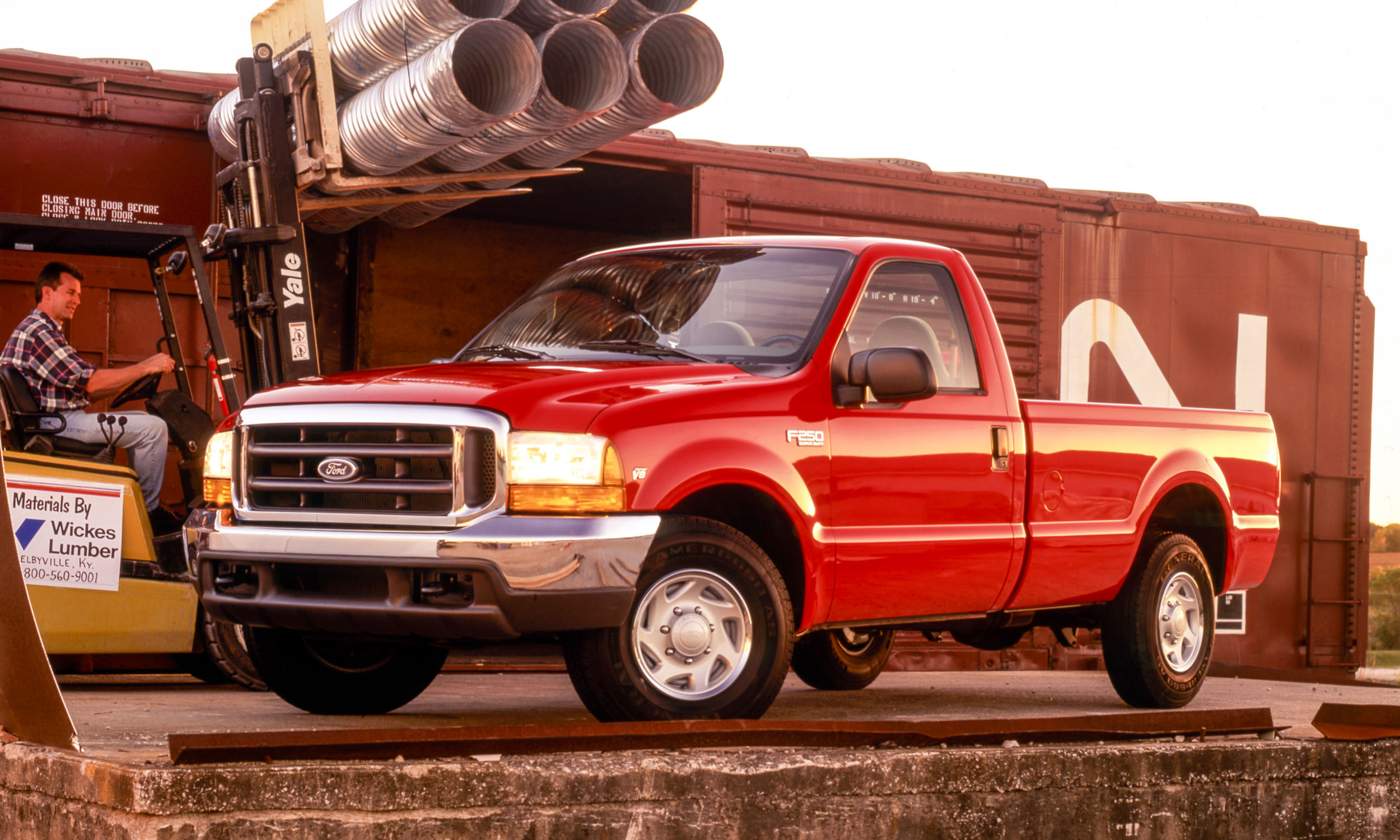 Ford F Series A Brief History Autonxt 2004 250 Super Duty Supercab Motor Company
