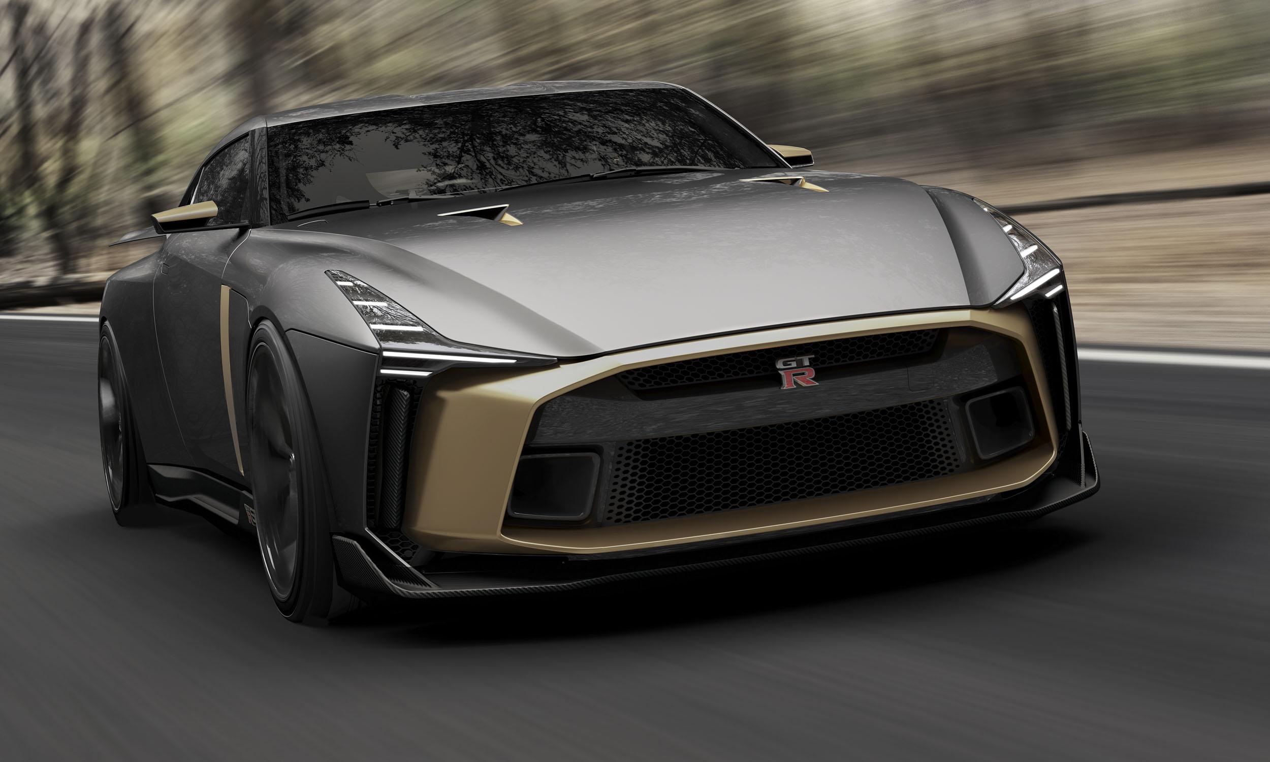 Golden Arrow: Nissan's 50th-Anniversary GT-R - » AutoNXT