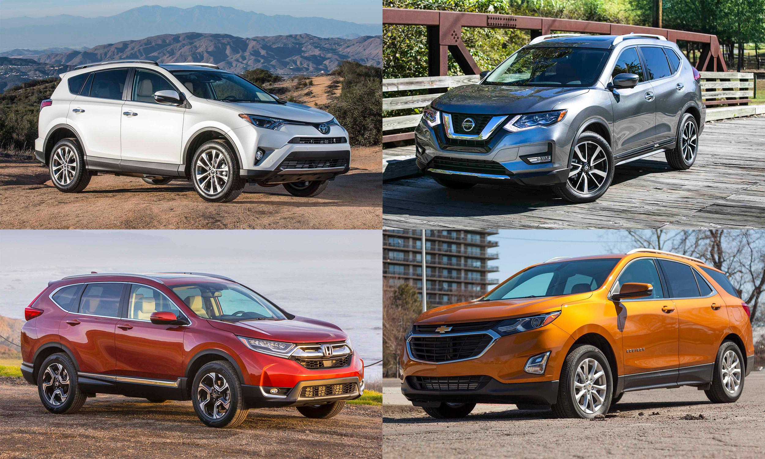 © Toyota Motor Sales; Nissan North America, Inc.; General Motors; American Honda Motor Company