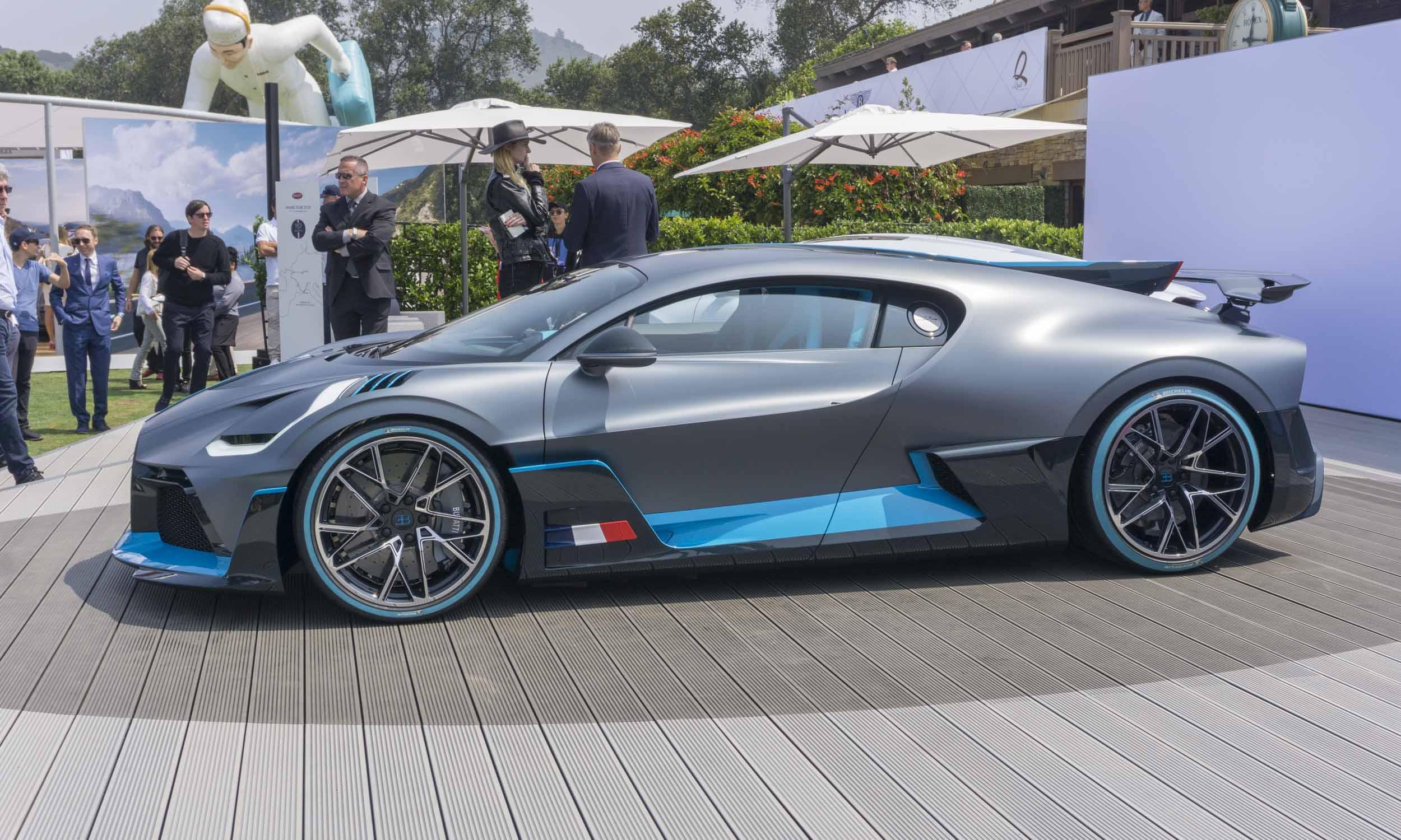 2018 Pebble Beach Concours: Bugatti Divo - » AutoNXT Bugatti Divo