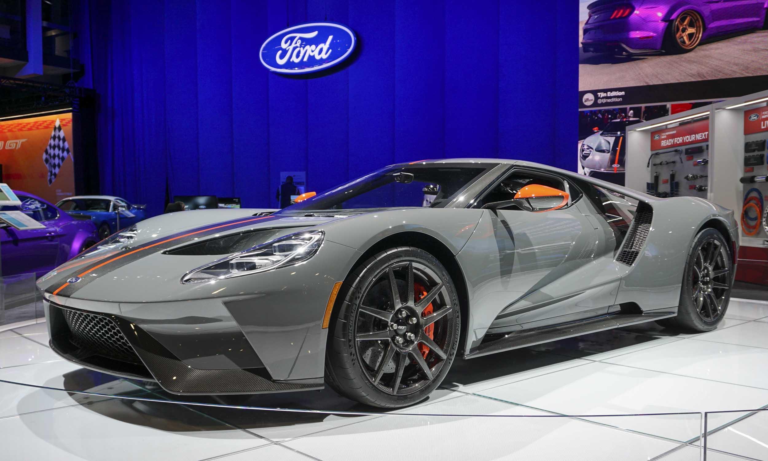 2018 Sema Show 2019 Ford Gt Carbon Series 187 Autonxt