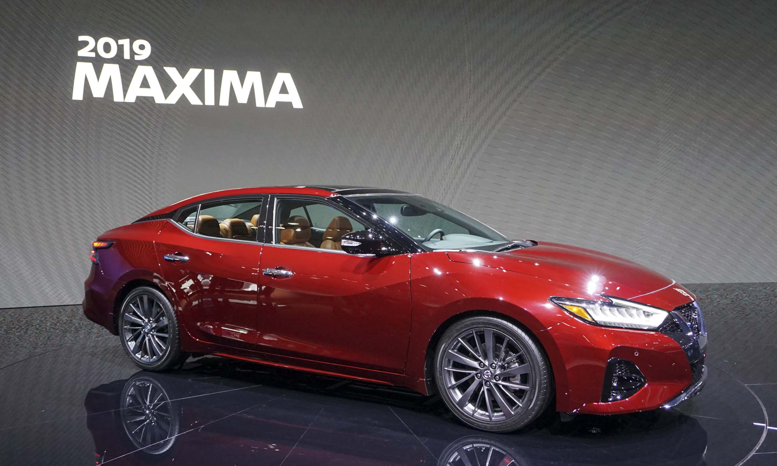 2018 L.A. Auto Show: 2019 Nissan Maxima - » AutoNXT