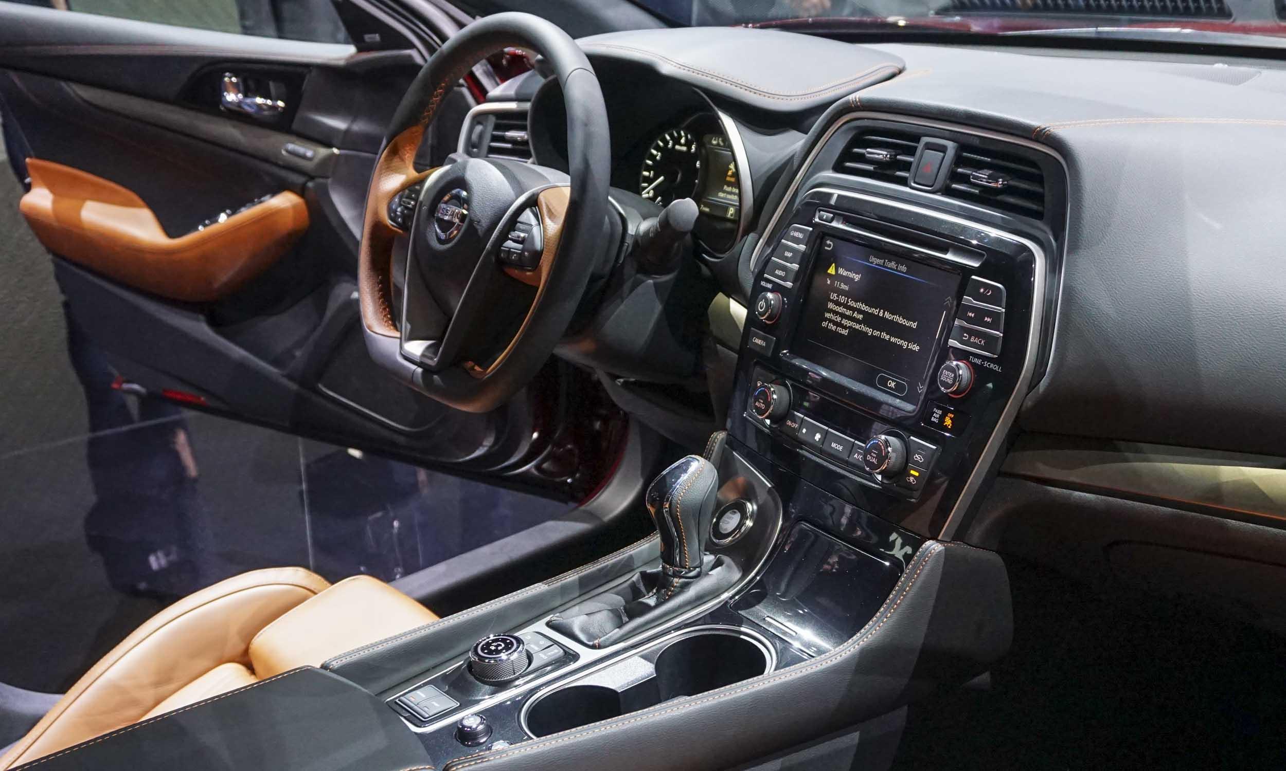 2018 L A Auto Show 2019 Nissan Maxima 187 Autonxt
