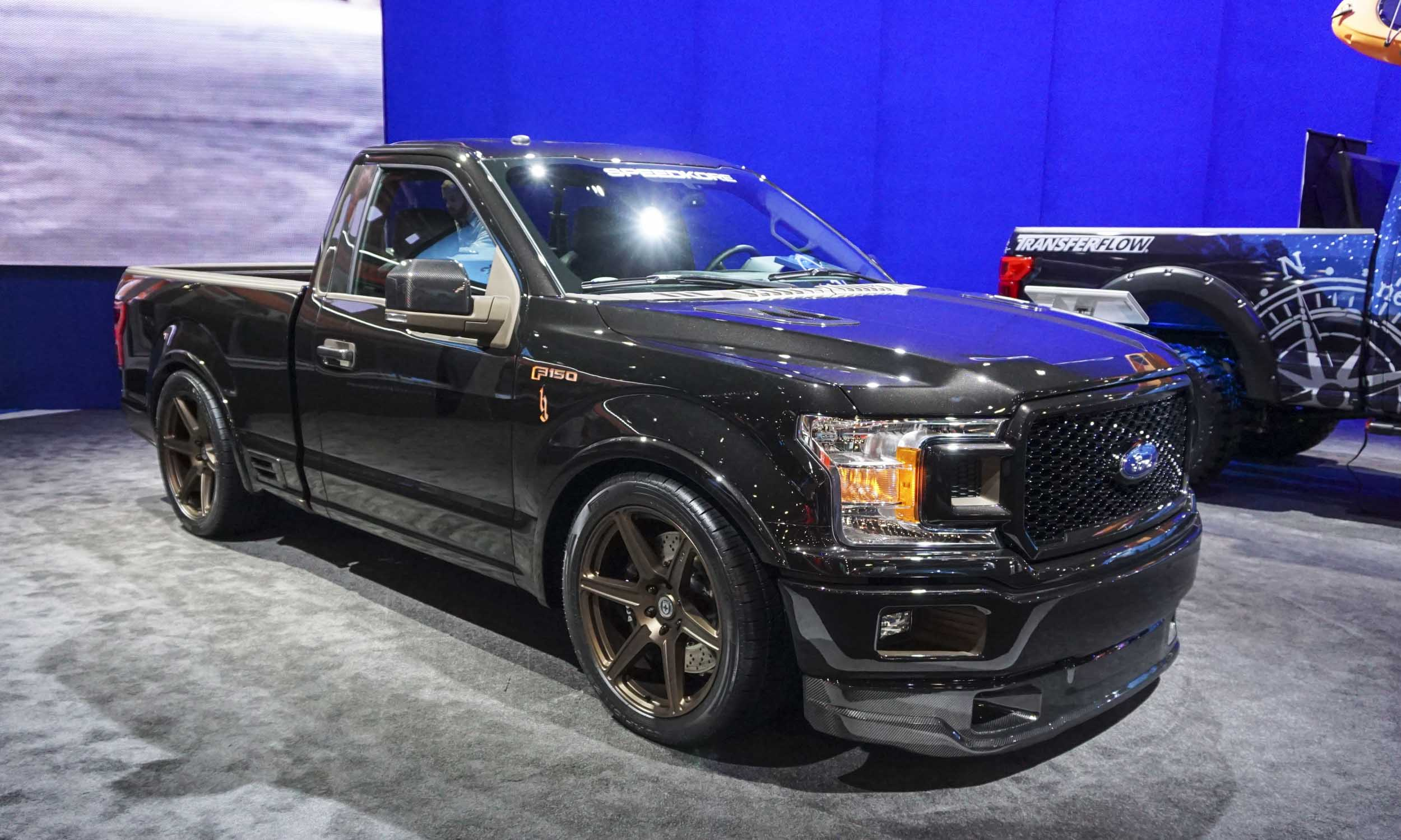 sema show ford customs autonxt