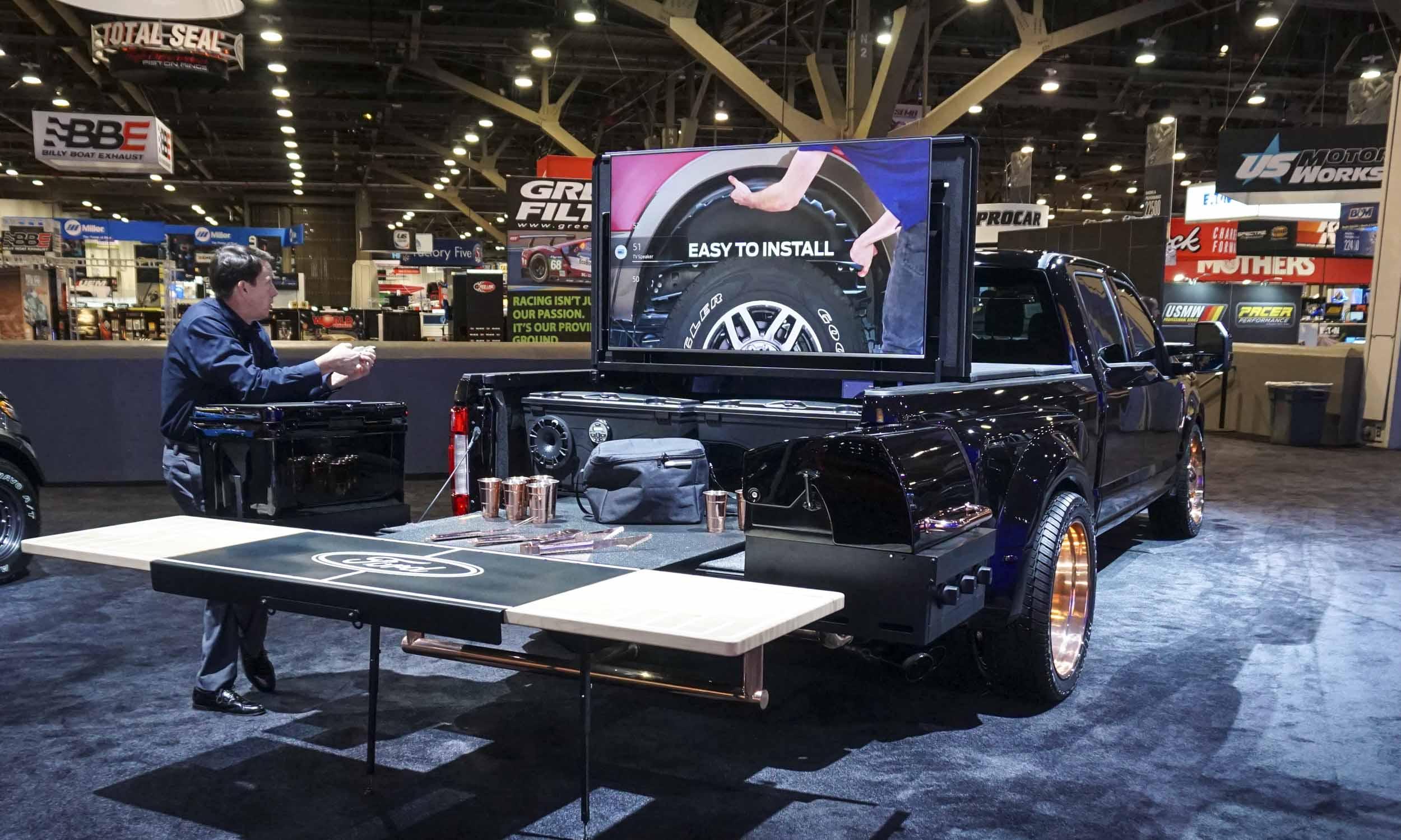 sema show ford customs autonxt