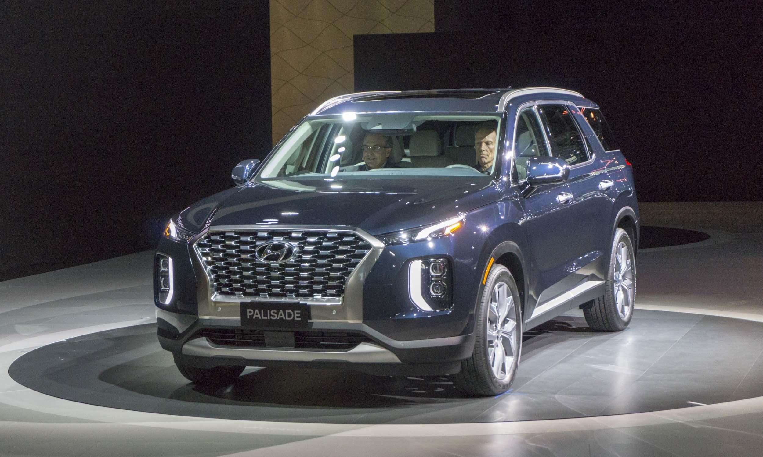 2018 L.A. Auto Show: 2020 Hyundai Palisade Rocks L.A ...