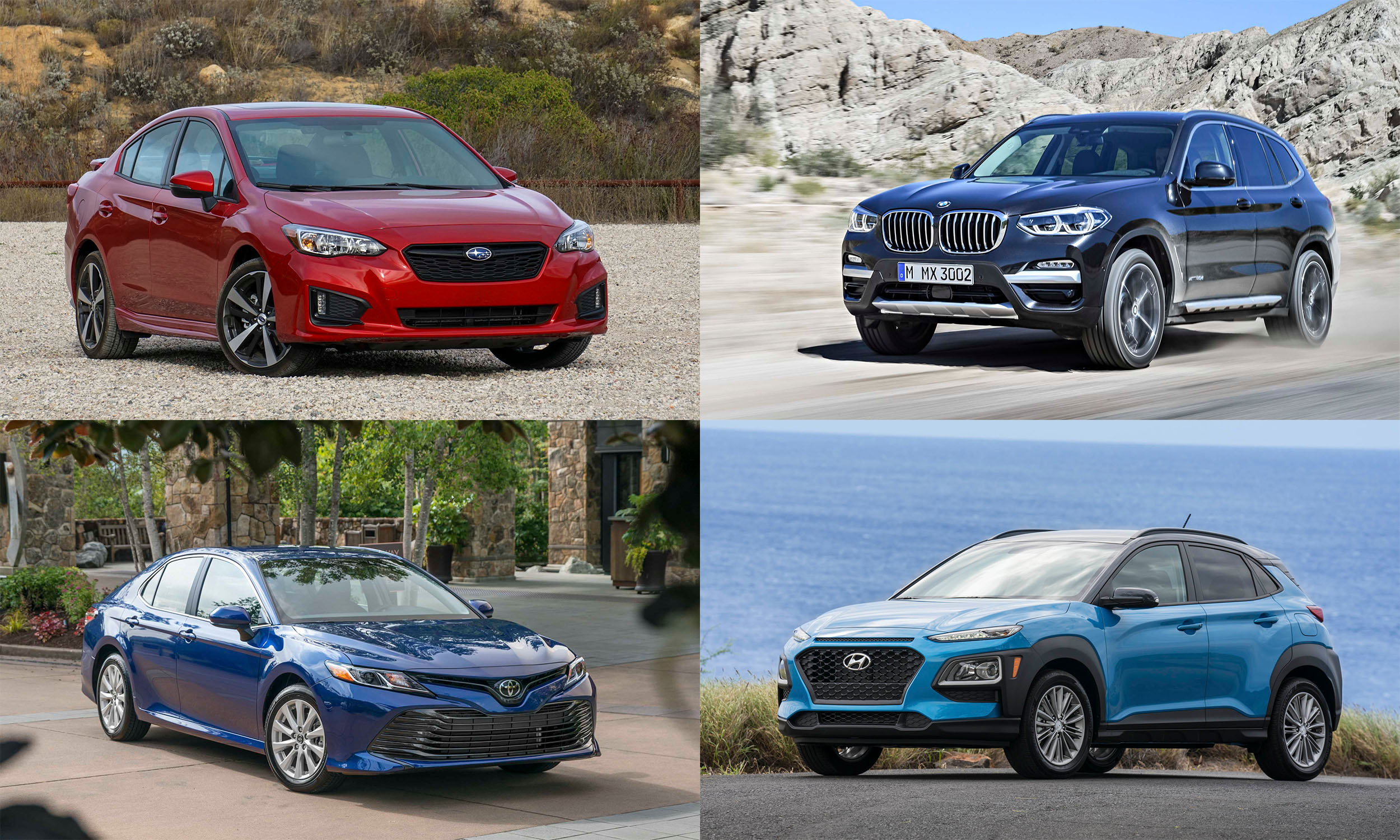 © Automotive Content Experience; © Toyota Motor Sales USA; © BMW North America; © Hyundai Motors America