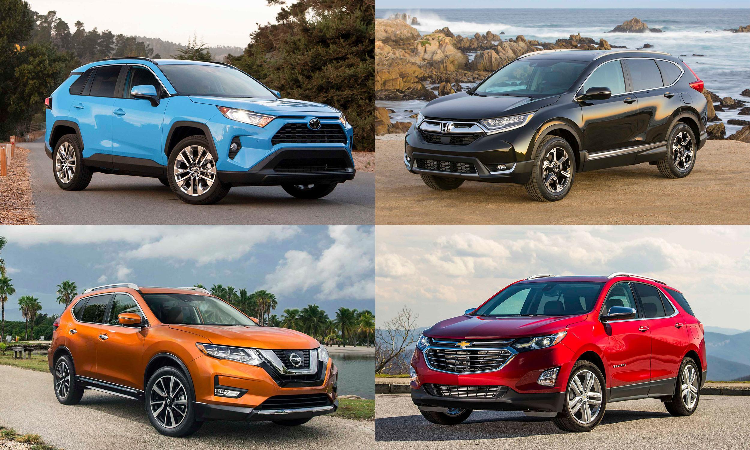© Toyota Motor Sales; American Honda Motor Company; General Motors; Nissan North America