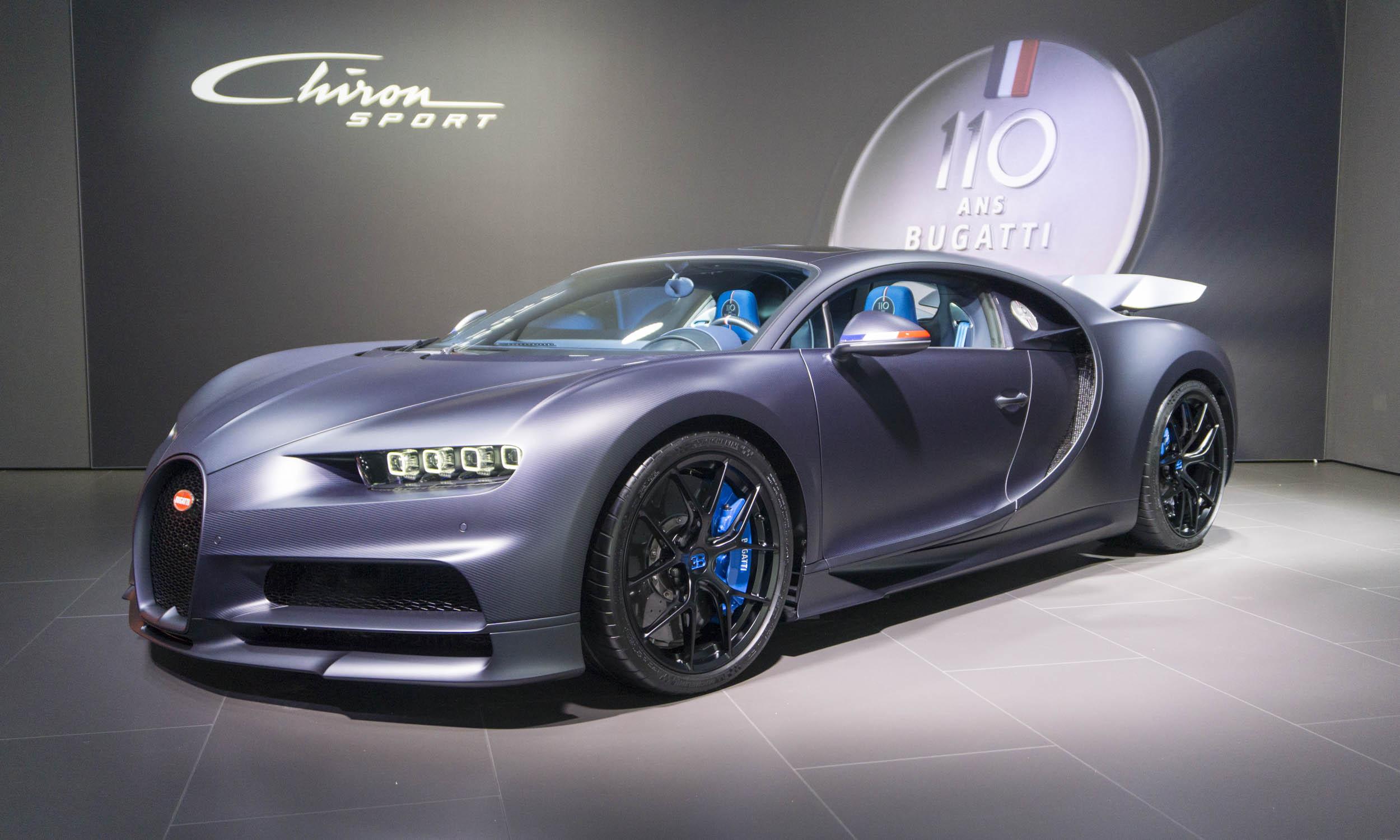 2019 Geneva Motor Show Bugatti Chiron Sport 110 Ans Bugatti Our Auto Expert