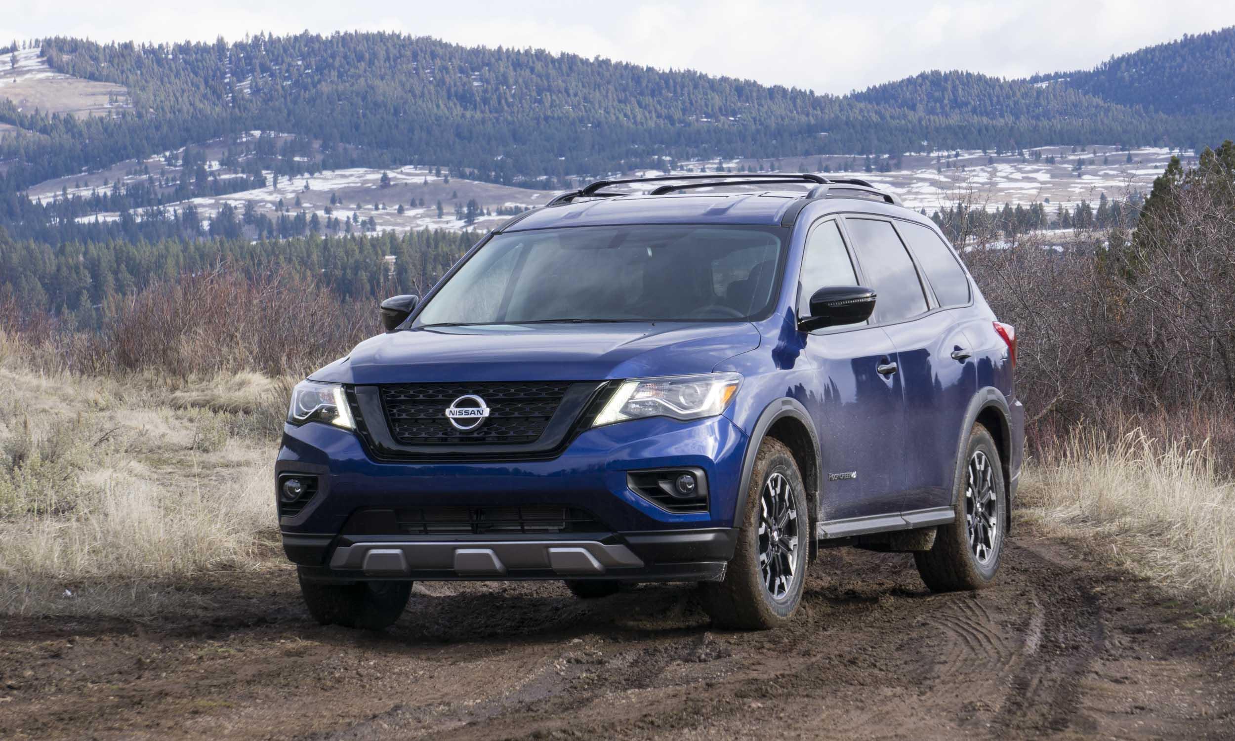 Nissan Pathfinder Rock Creek — Adventure in Montana ...