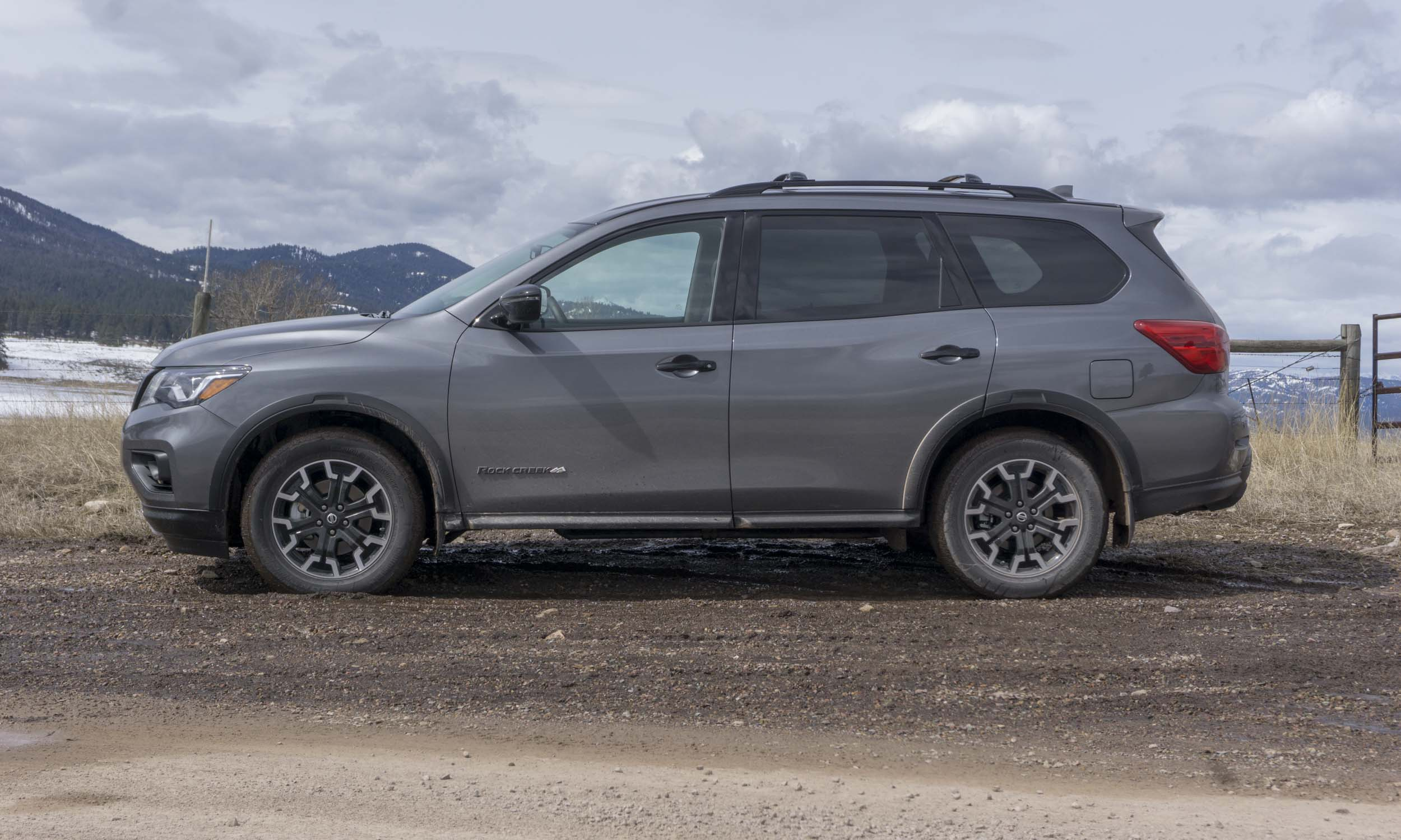 Nissan Pathfinder Rock Creek — Adventure in Montana ...