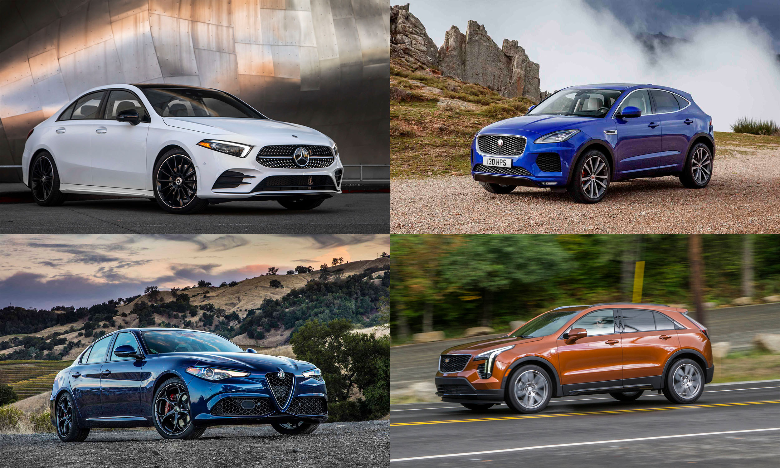 © Mercedes-Benz USA, © FCA US, © Jaguar Land Rover, © Automotive Content Experience