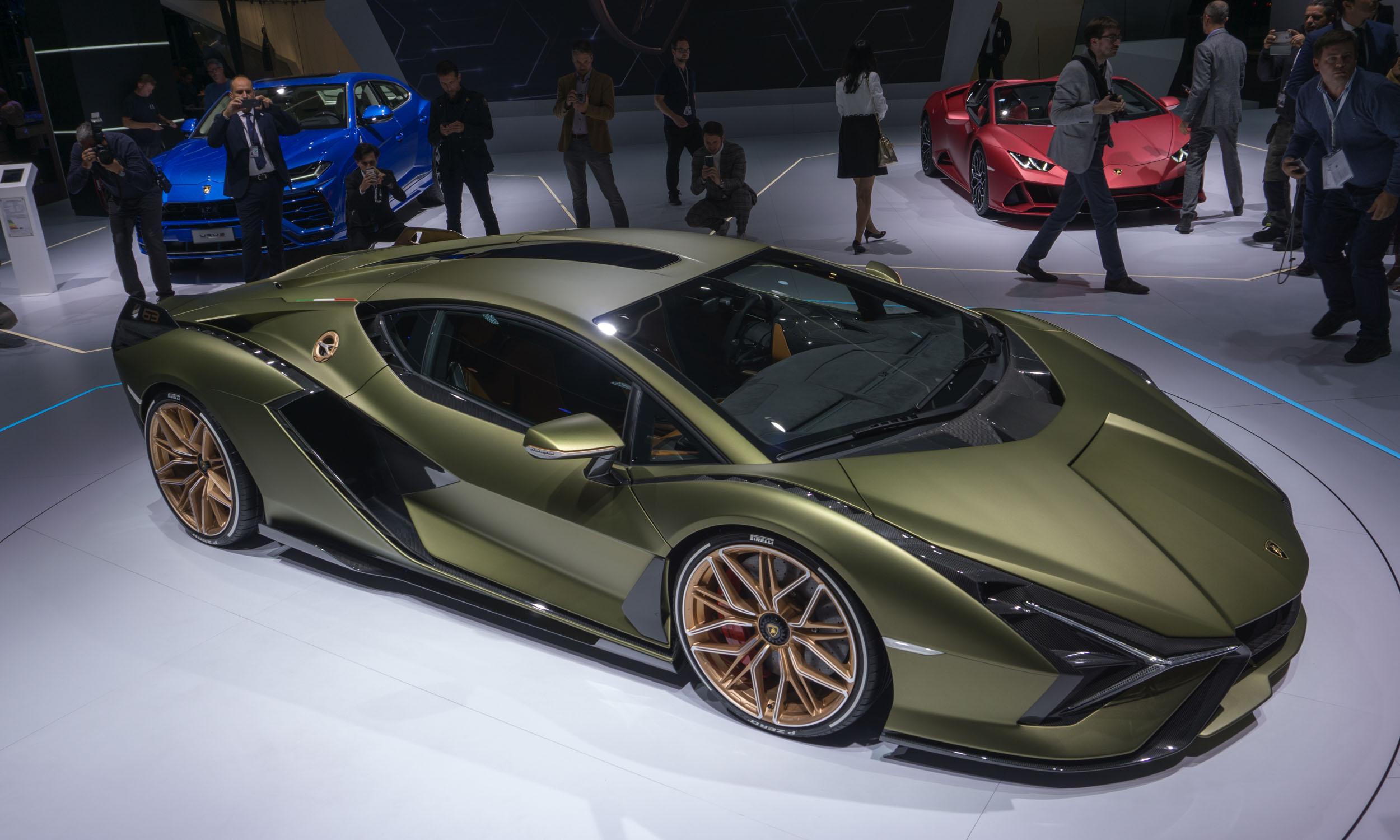 2019 Frankfurt Motor Show: Lamborghini Sian - » AutoNXT