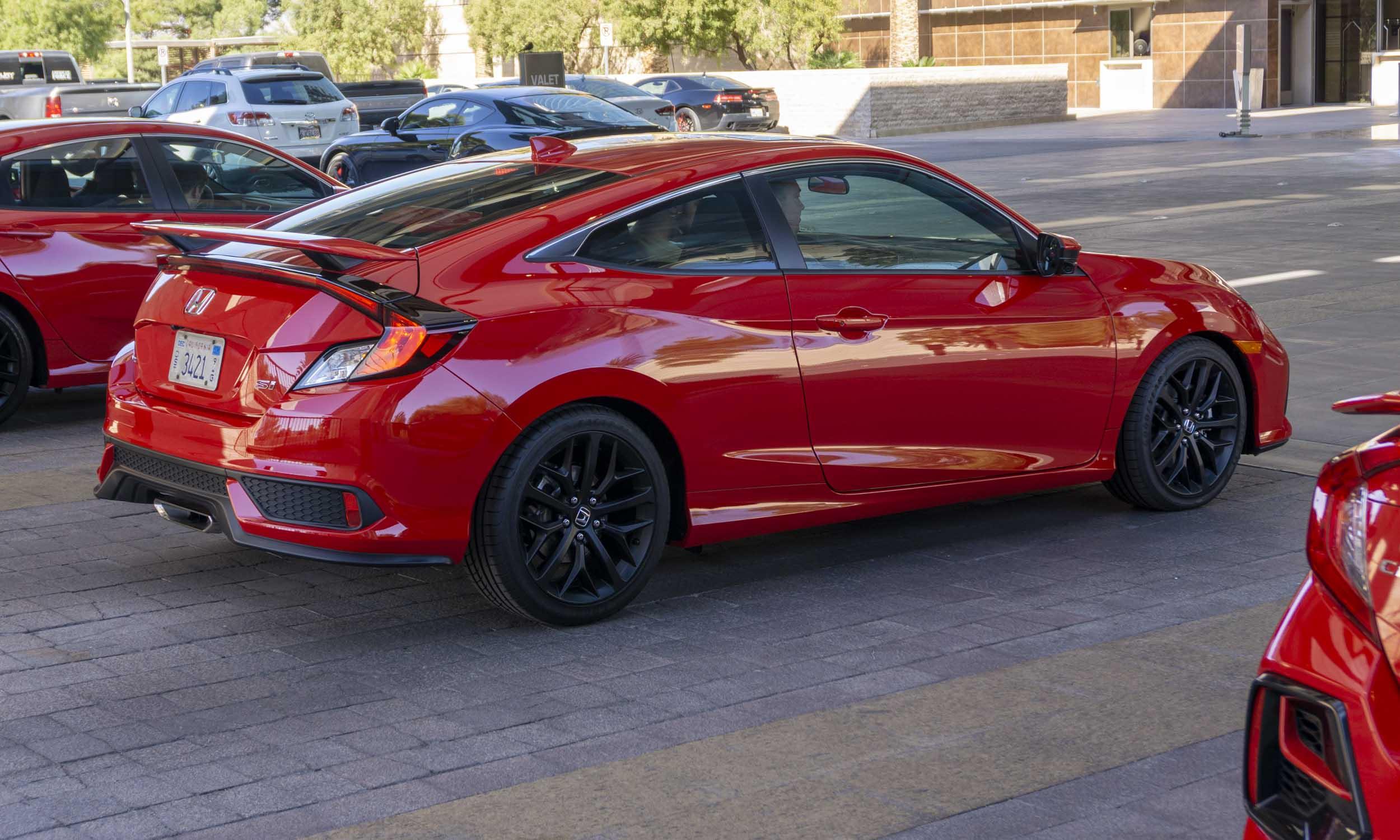 2020 Honda Civic Si Review Autonxt