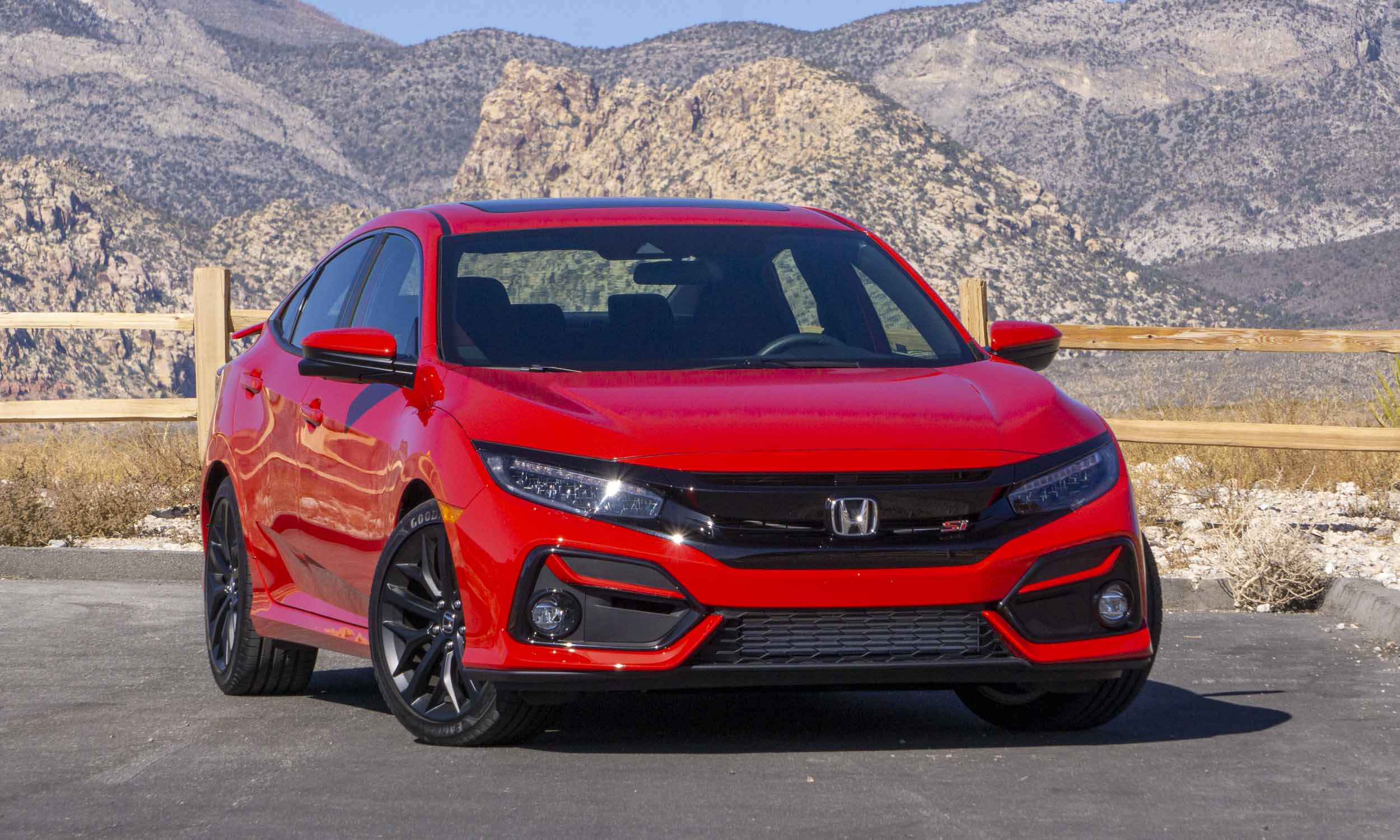 2020 Honda Civic Si Review Autonxt