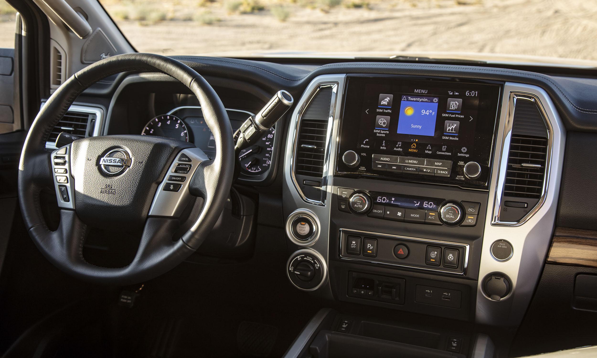 2020 Nissan Titan First Drive Review Autonxt