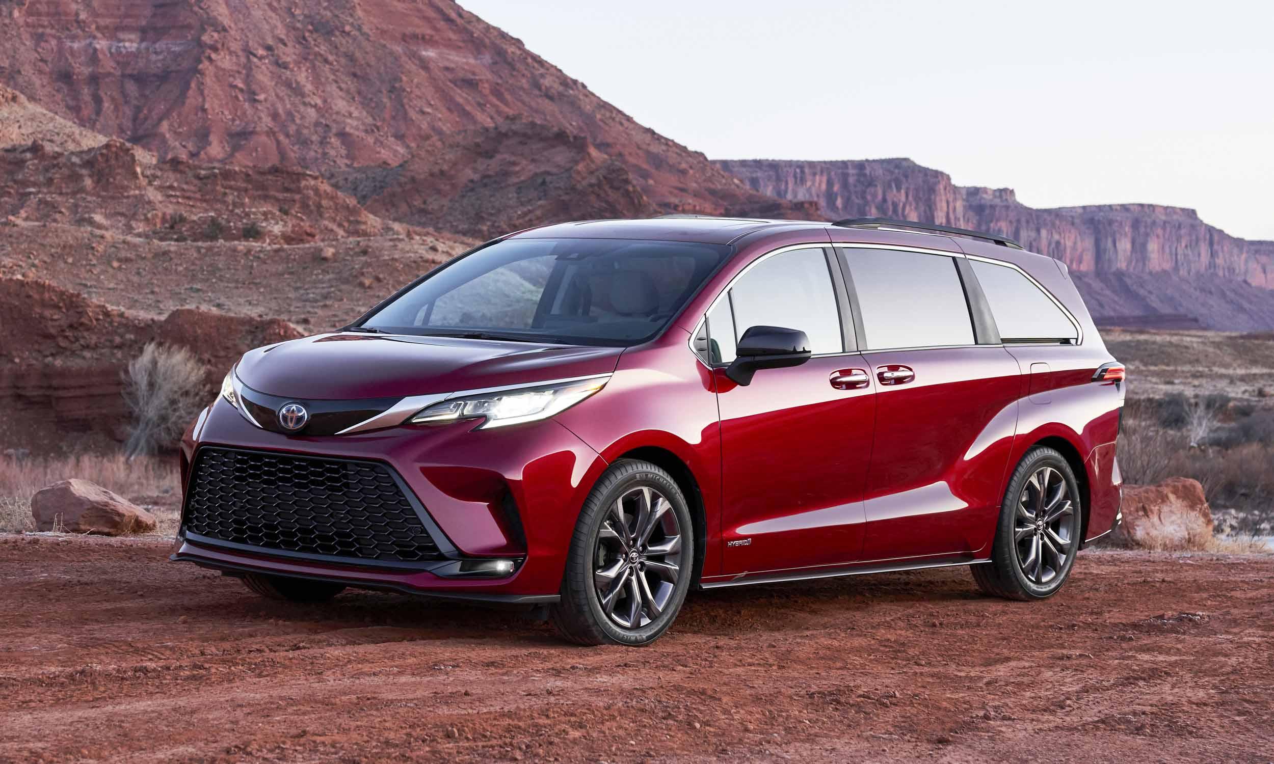 2021 Toyota Sienna First Look Autonxt