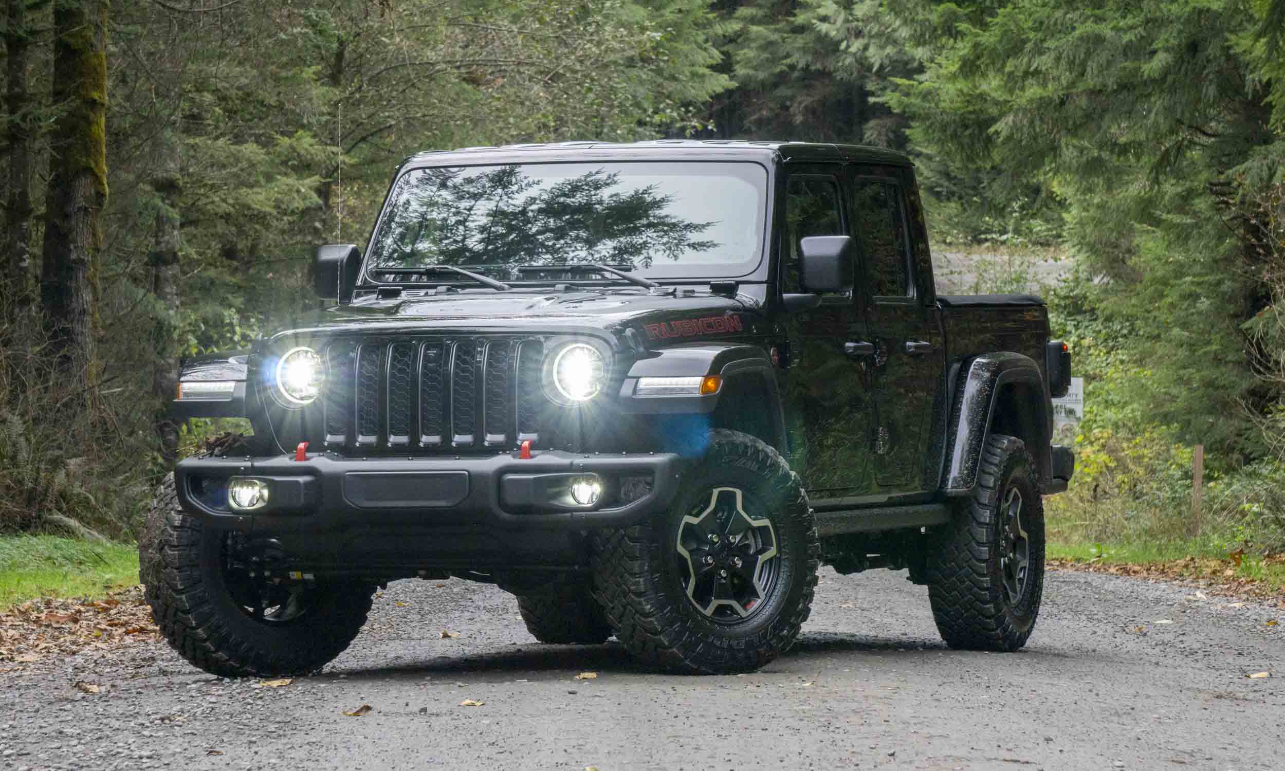 2021 jeep gladiator rubicon diesel: photos and review